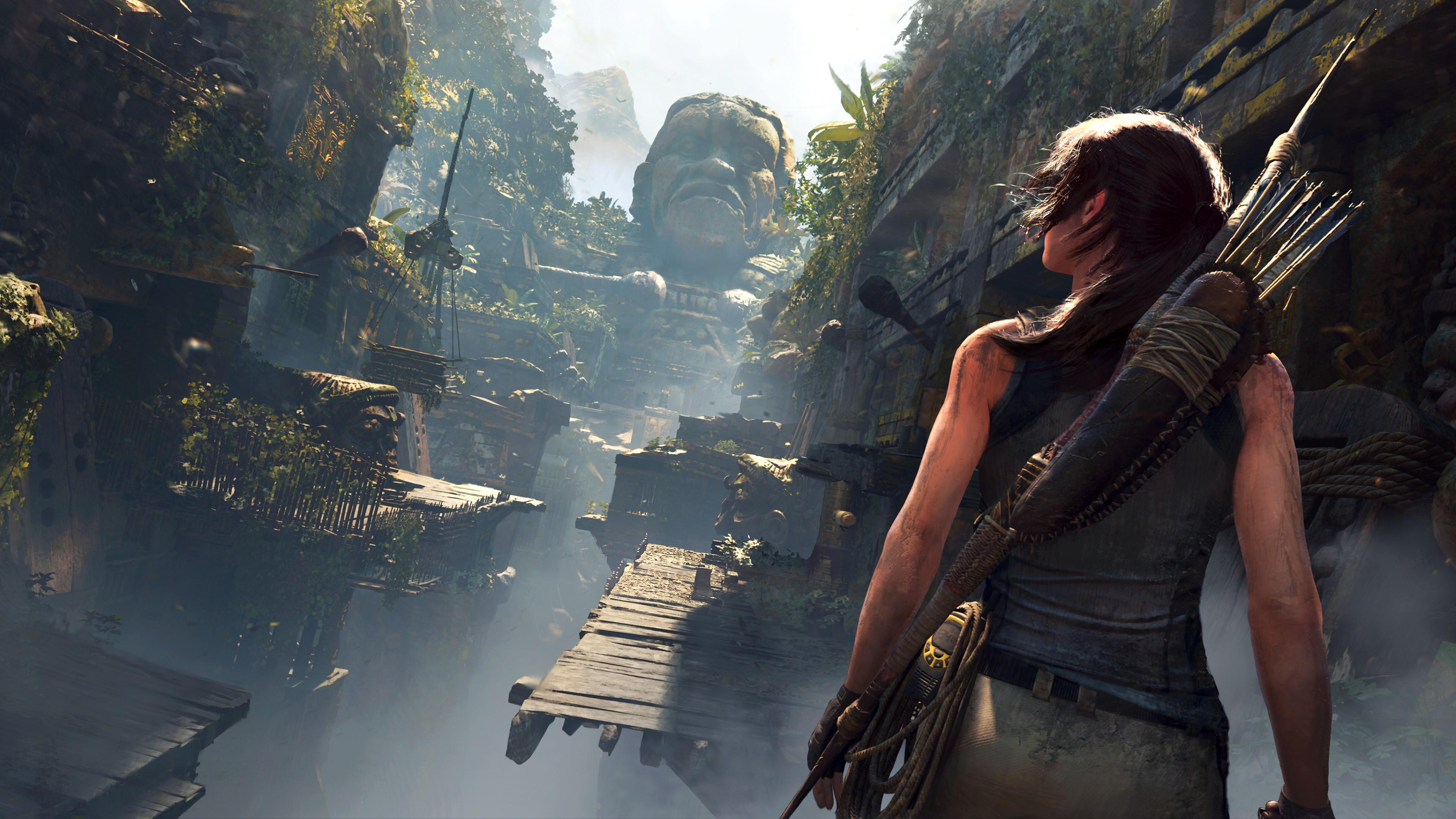 Скриншот №1 к Tomb Raider Definitive Survivor Trilogy