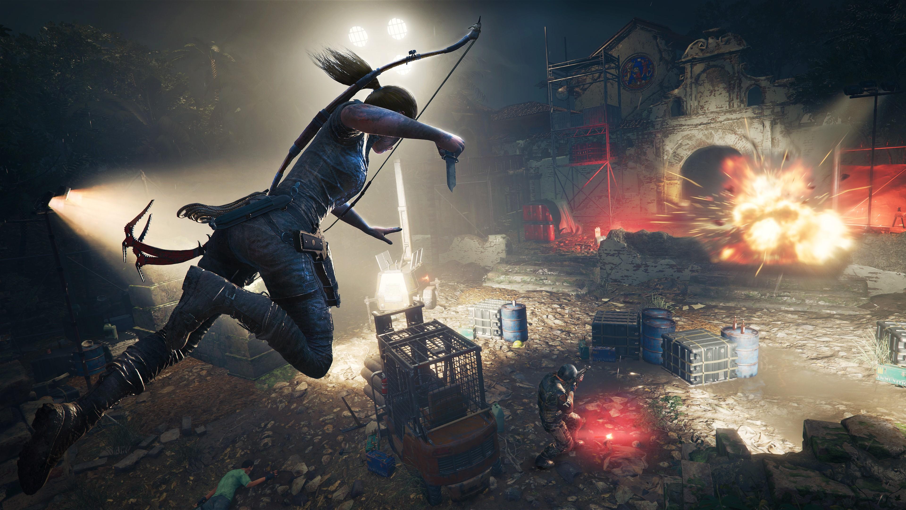 Скриншот №2 к Tomb Raider Definitive Survivor Trilogy