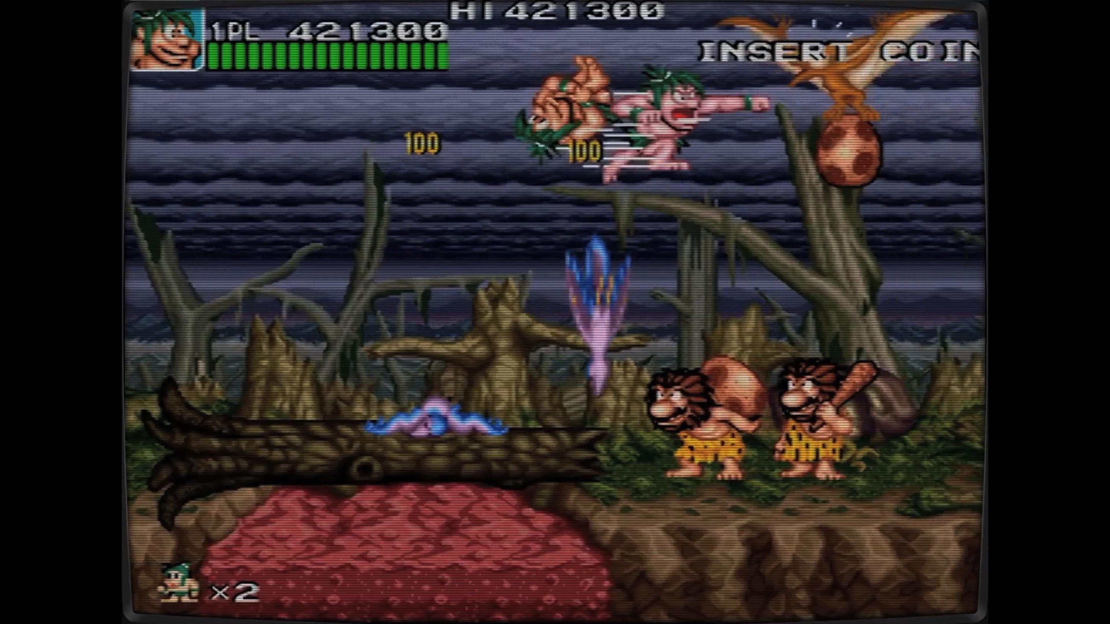 Скриншот №6 к Ретро Классикс Джо и Мак - Пещерный человек ниндзя