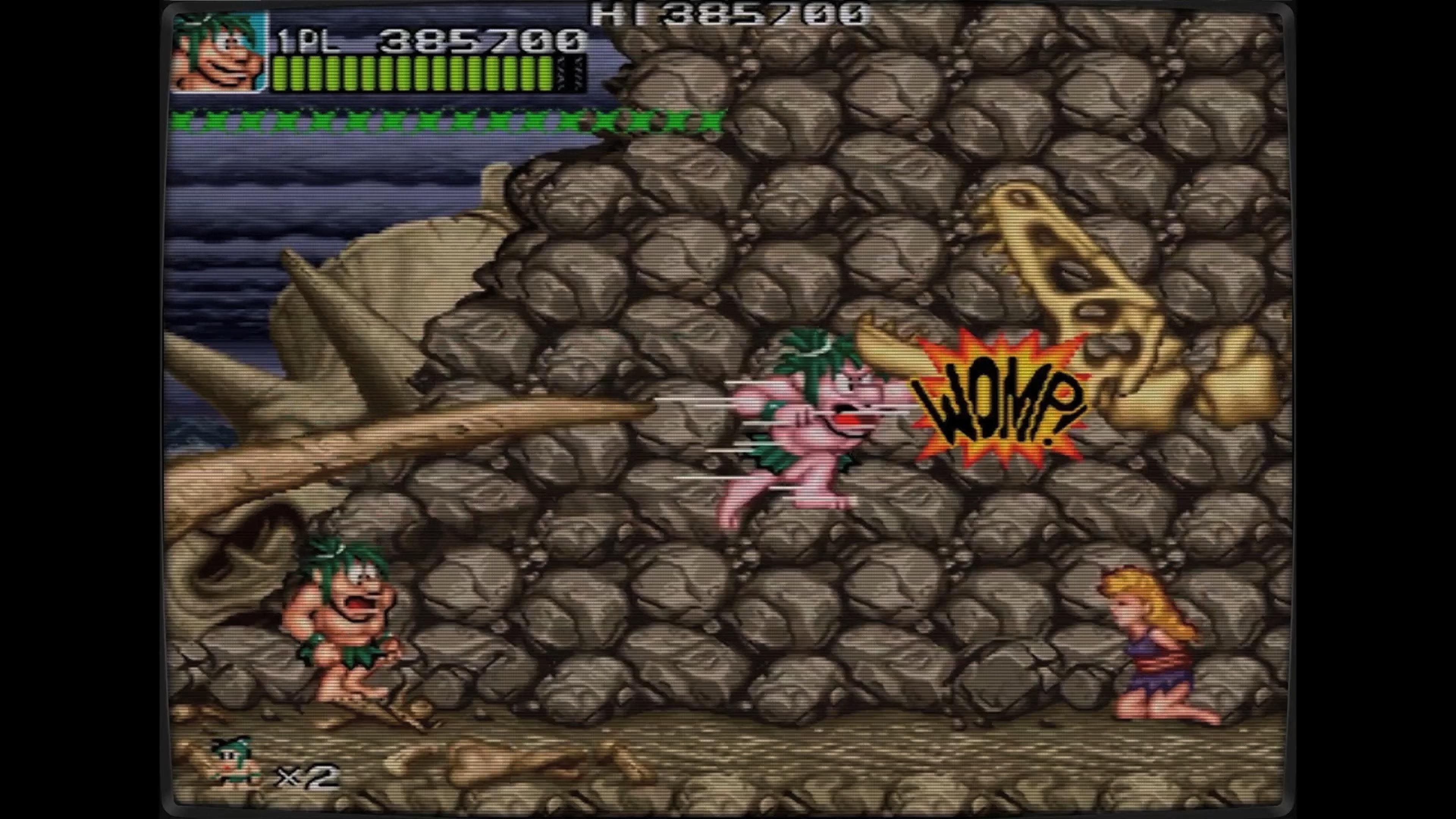 Скриншот №8 к Ретро Классикс Джо и Мак - Пещерный человек ниндзя