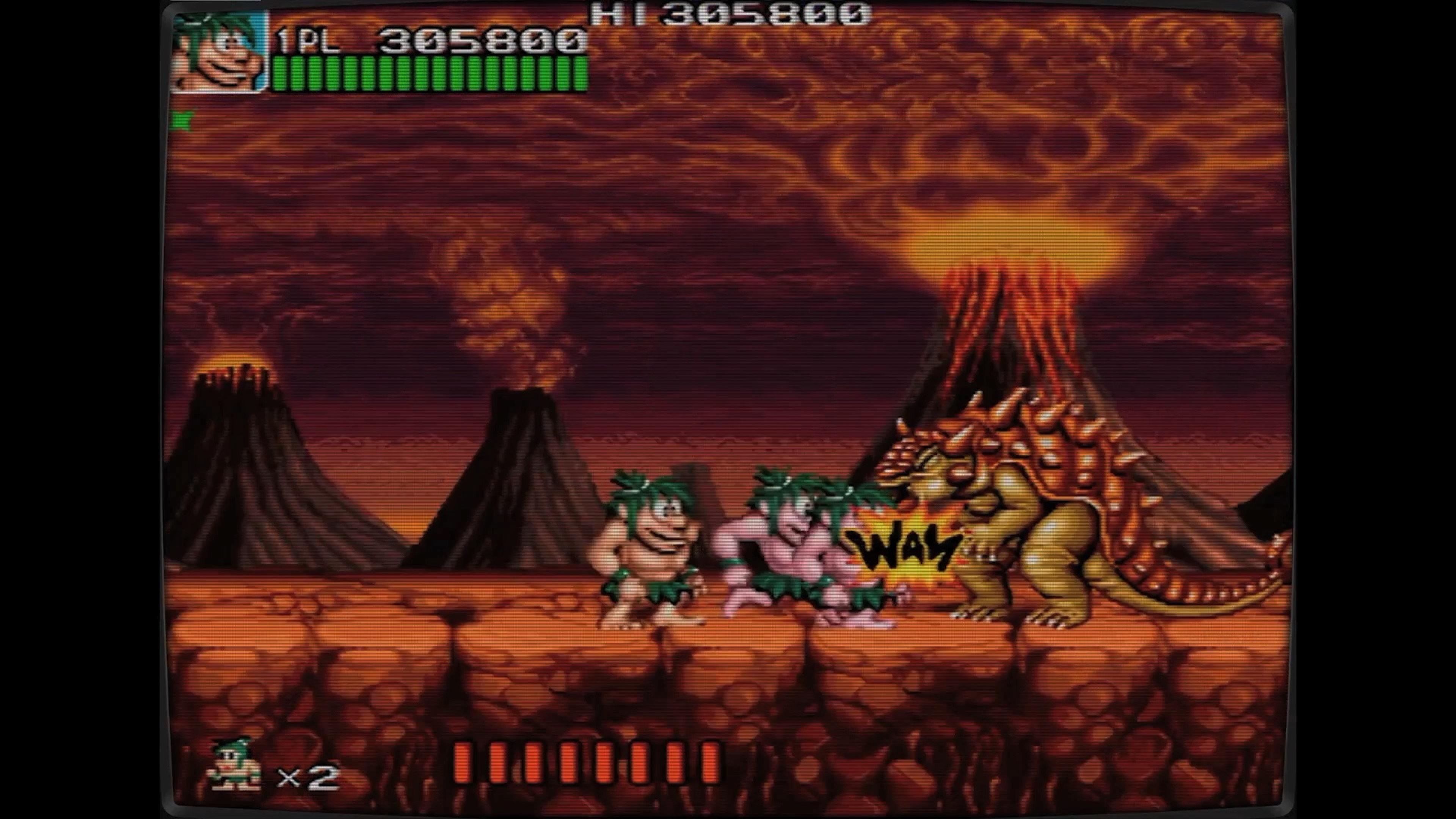 Скриншот №2 к Ретро Классикс Джо и Мак - Пещерный человек ниндзя
