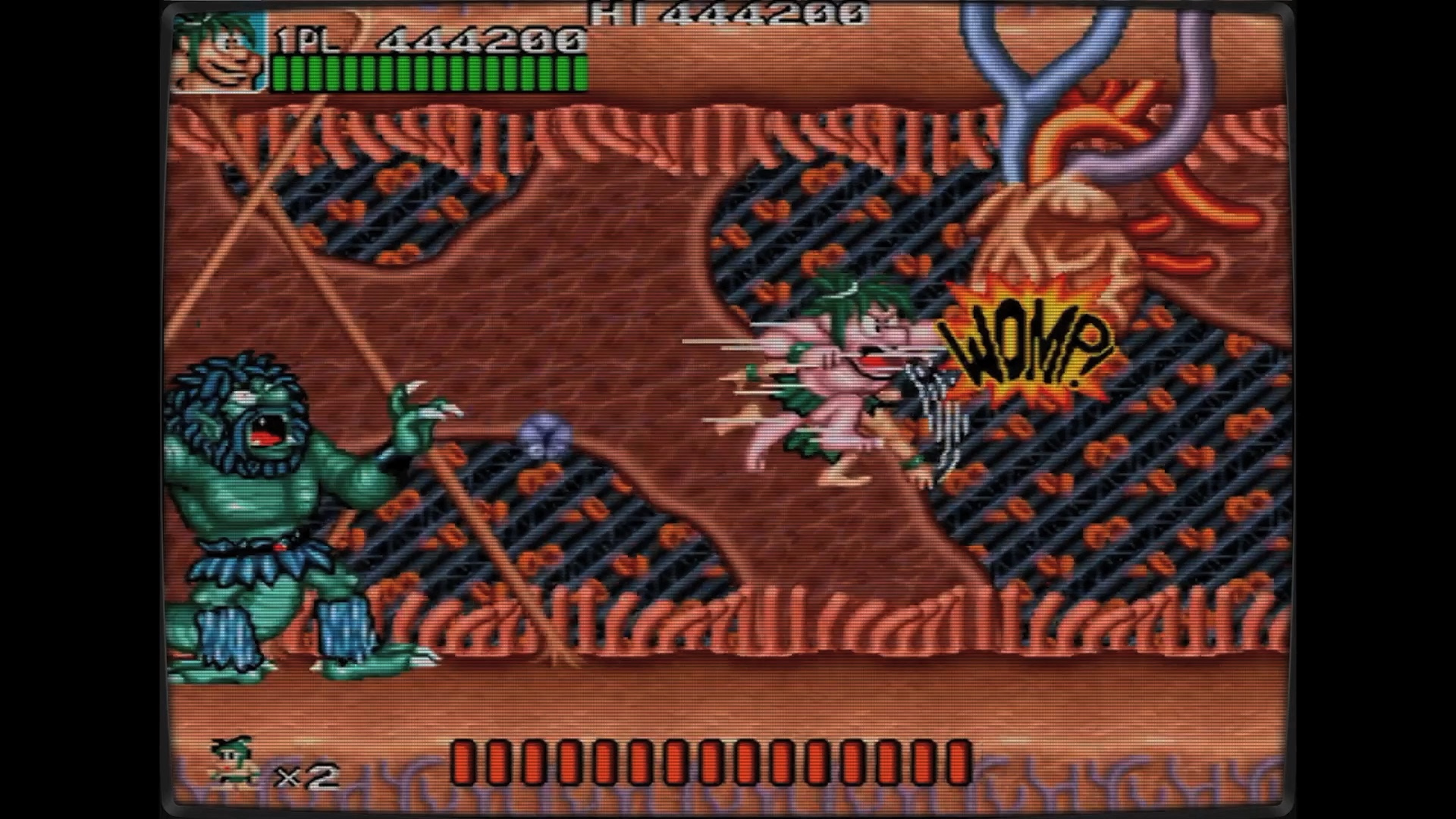 Скриншот №7 к Ретро Классикс Джо и Мак - Пещерный человек ниндзя
