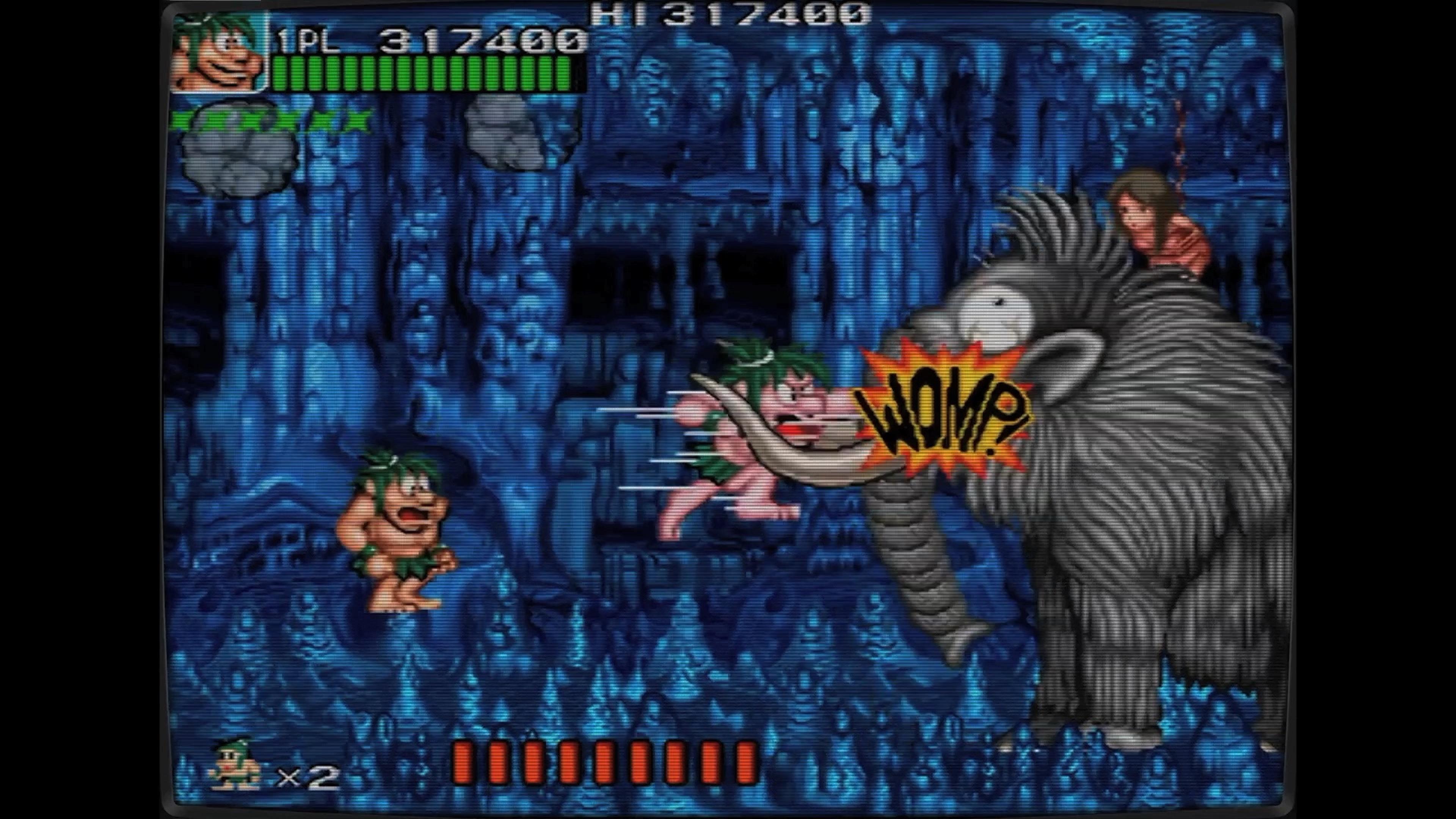 Скриншот №4 к Ретро Классикс Джо и Мак - Пещерный человек ниндзя