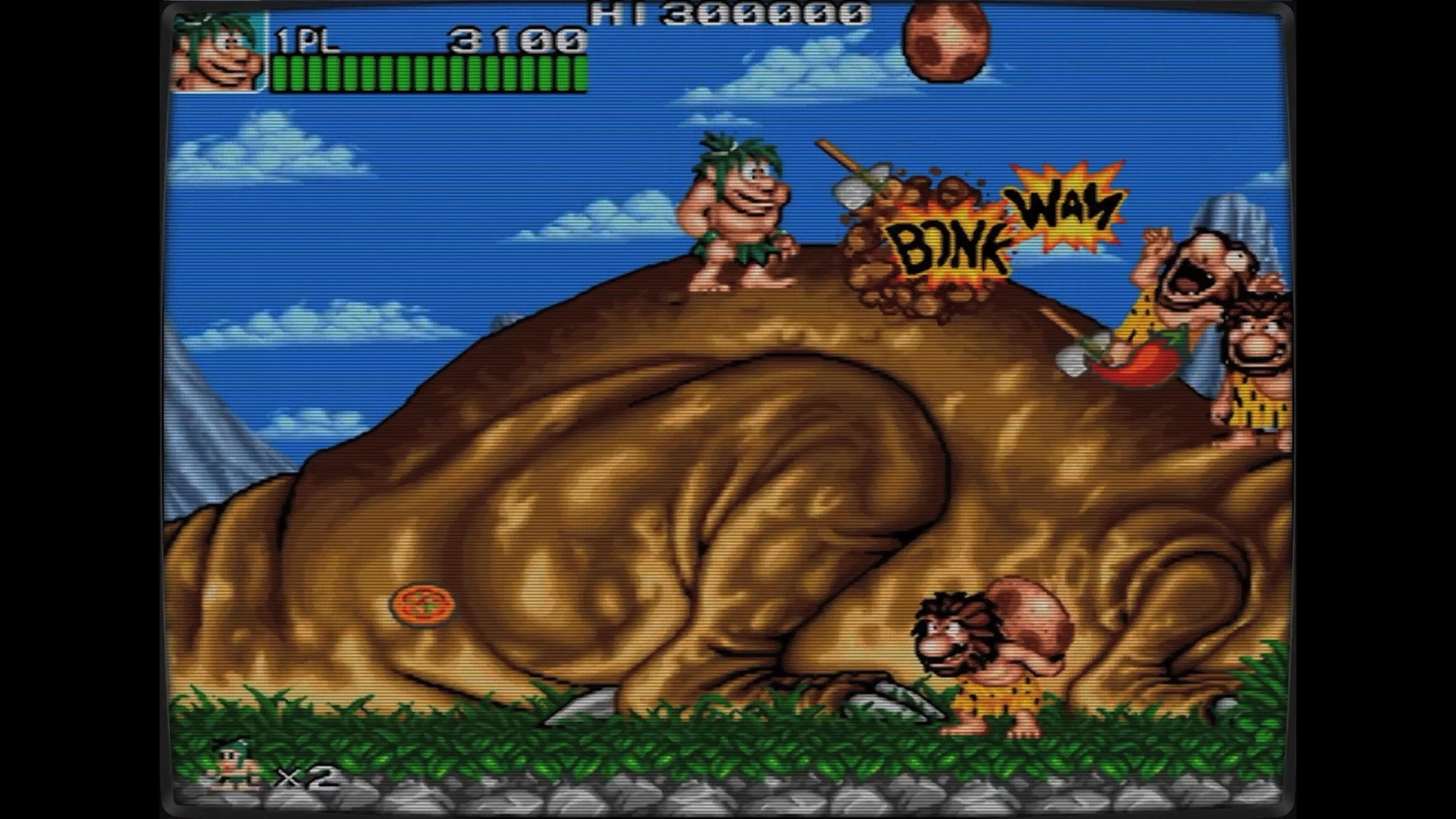 Скриншот №1 к Ретро Классикс Джо и Мак - Пещерный человек ниндзя