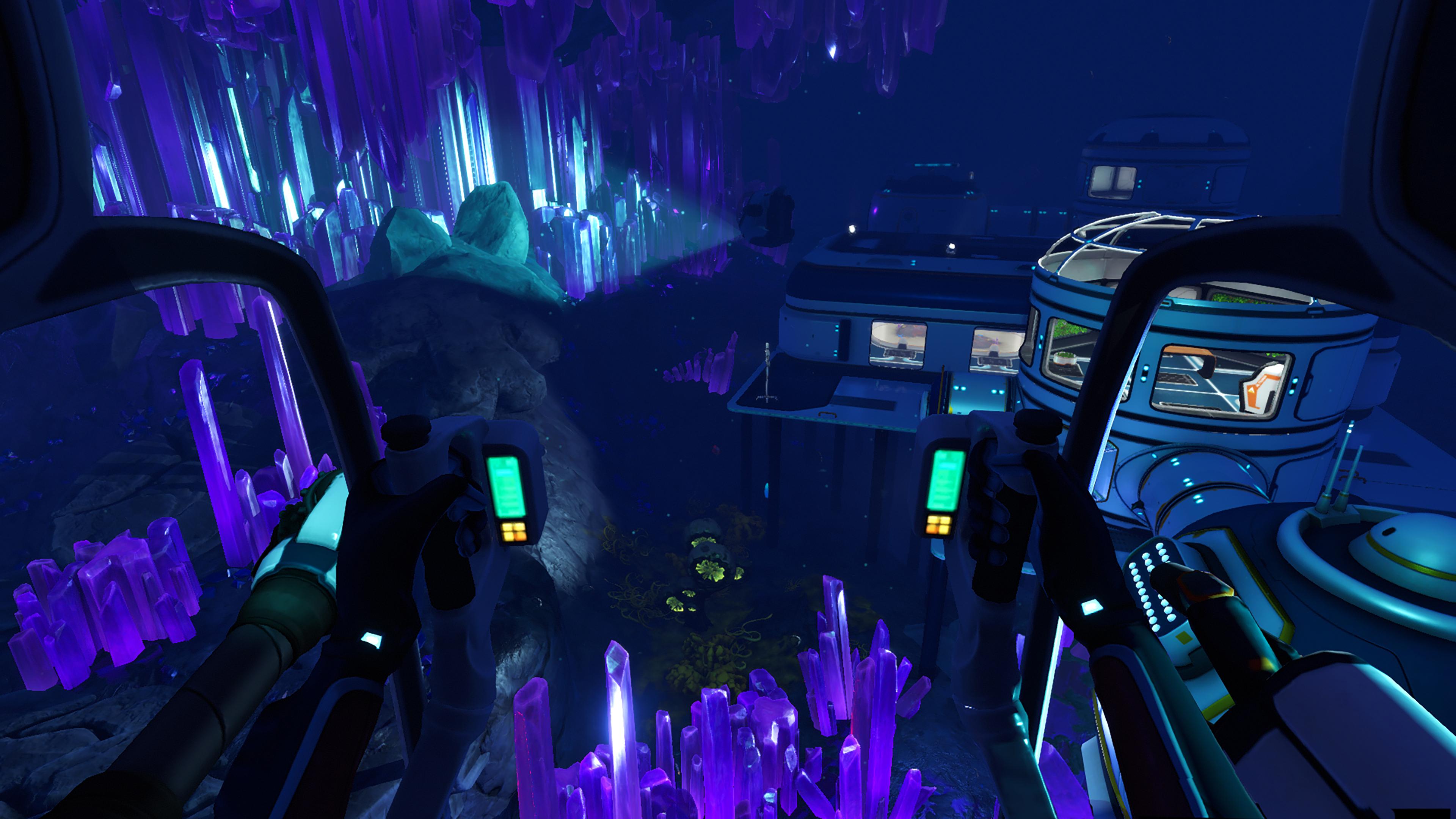 Скриншот №1 к Subnautica Below Zero PS4 and PS5