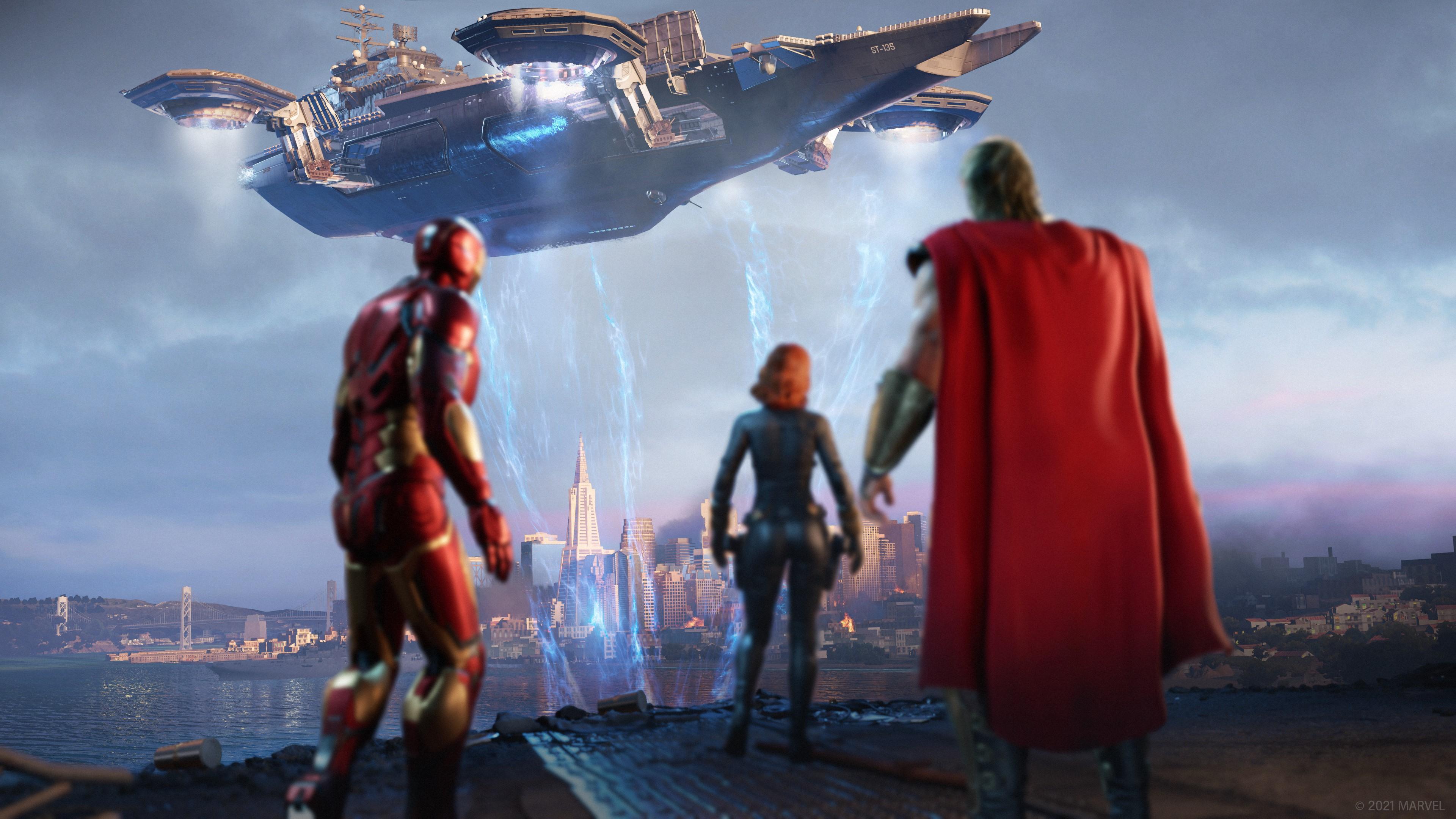 Скриншот №5 к Мстители Marvel