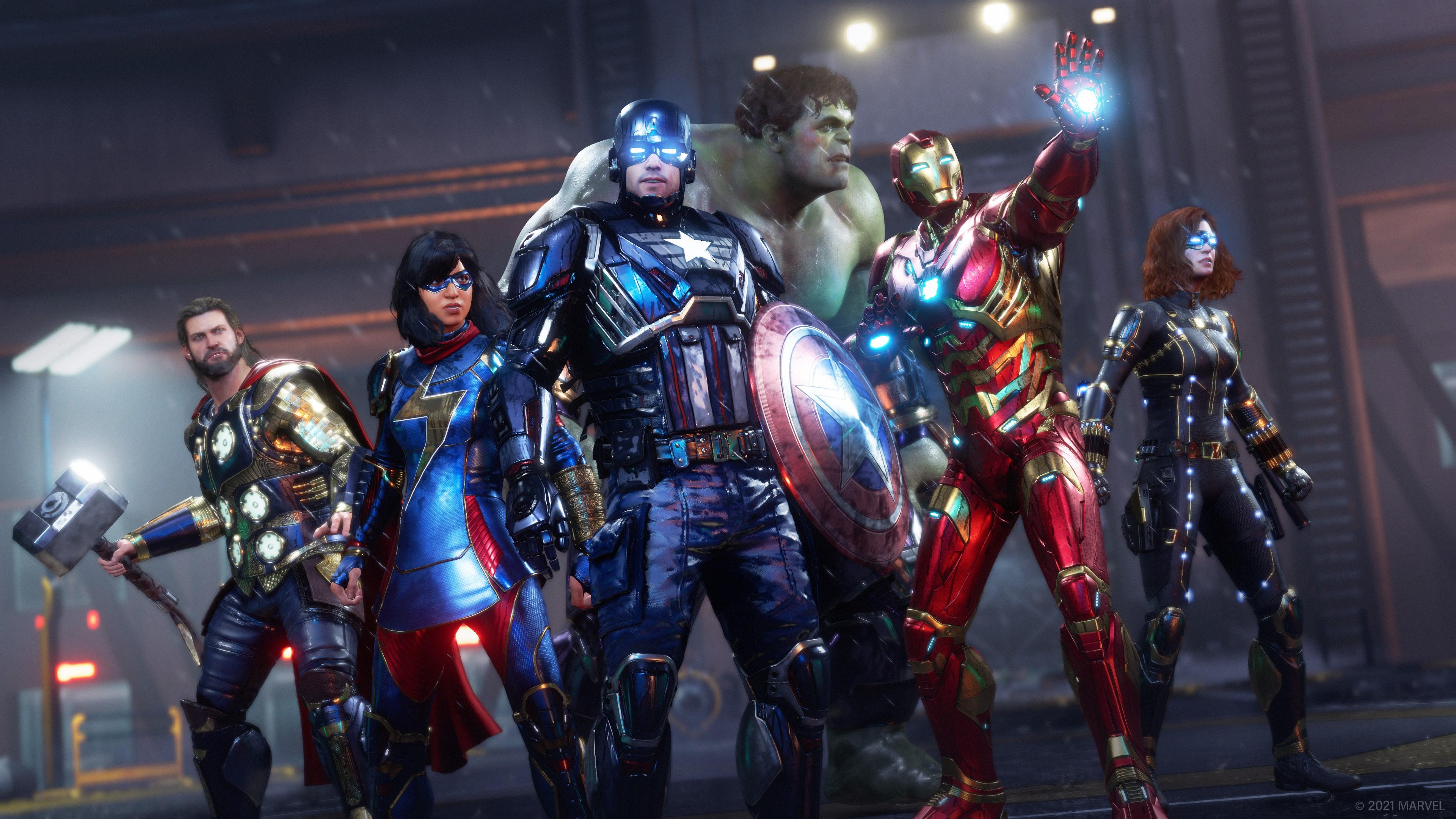 Скриншот №6 к Мстители Marvel
