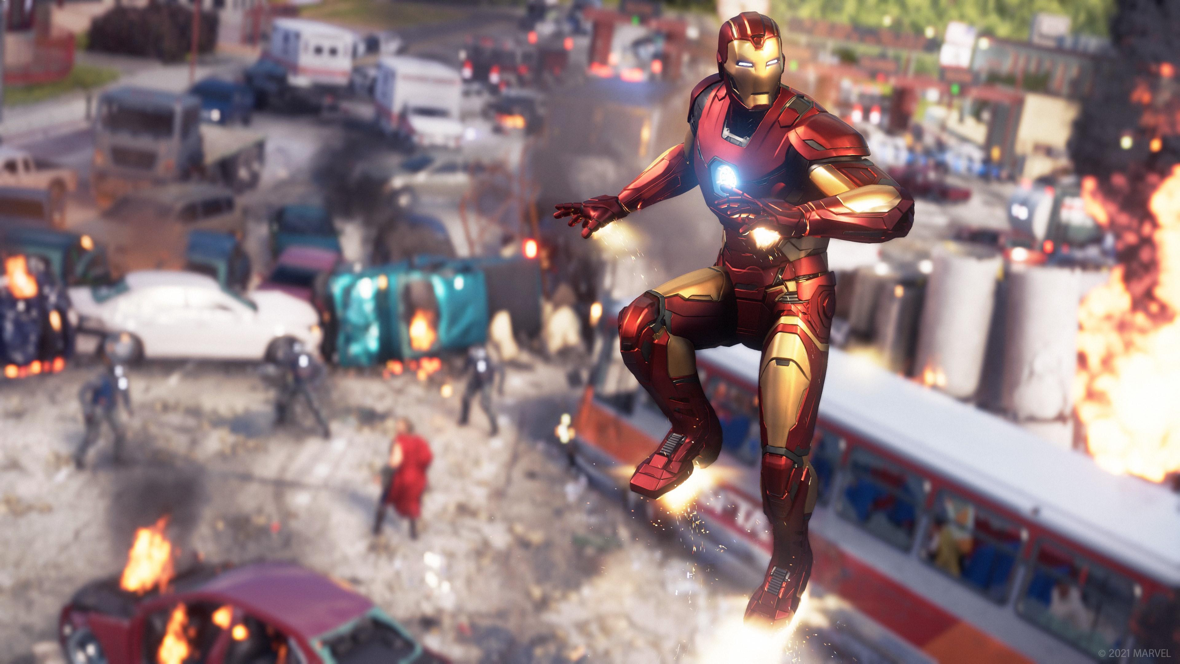 Скриншот №8 к Мстители Marvel
