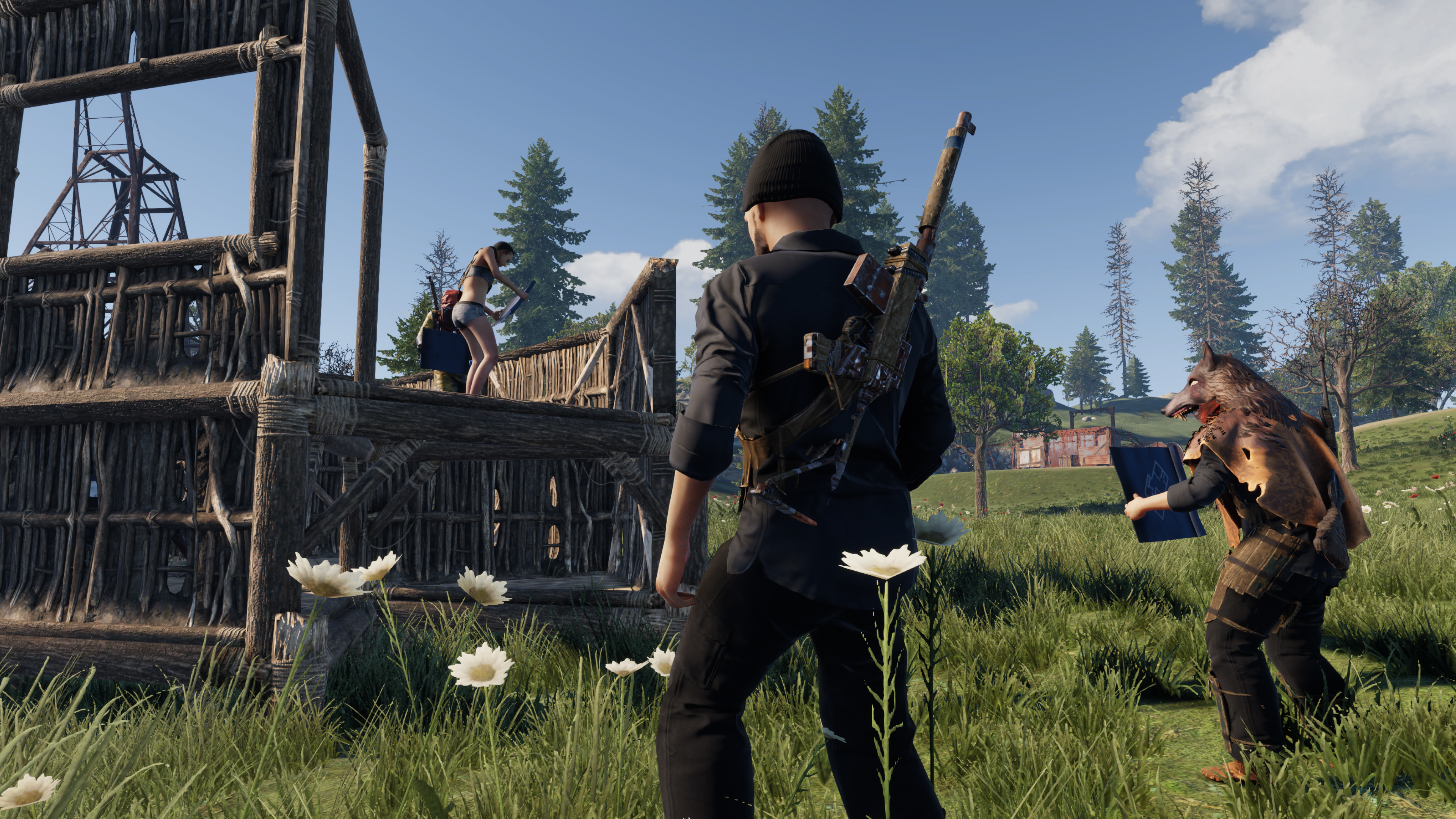 Скриншот №2 к Rust Console Edition