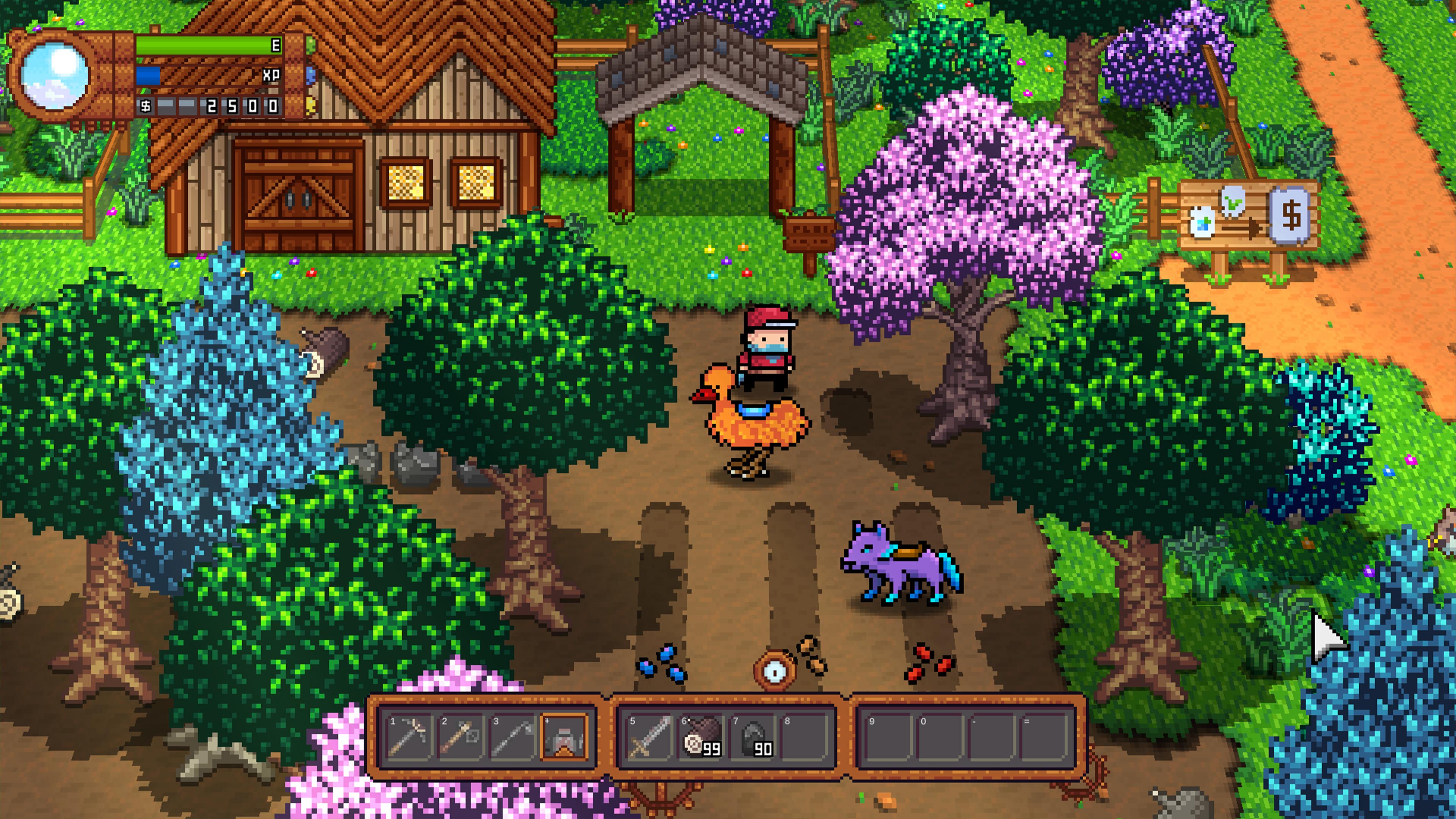 Скриншот №6 к Monster Harvest