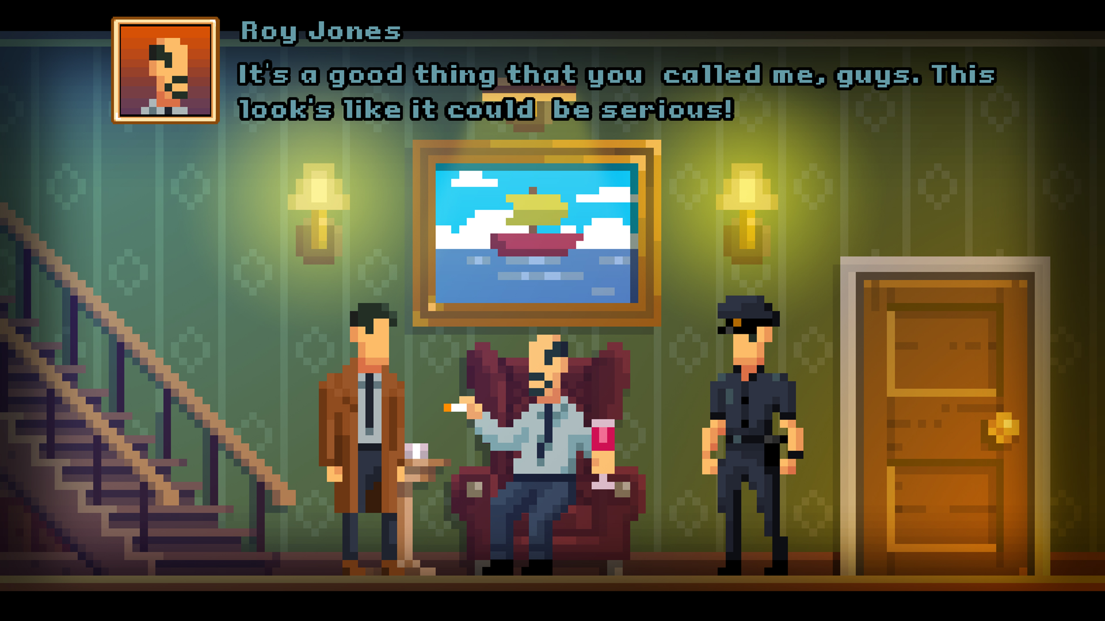 Скриншот №1 к The Darkside Detective - Series Edition