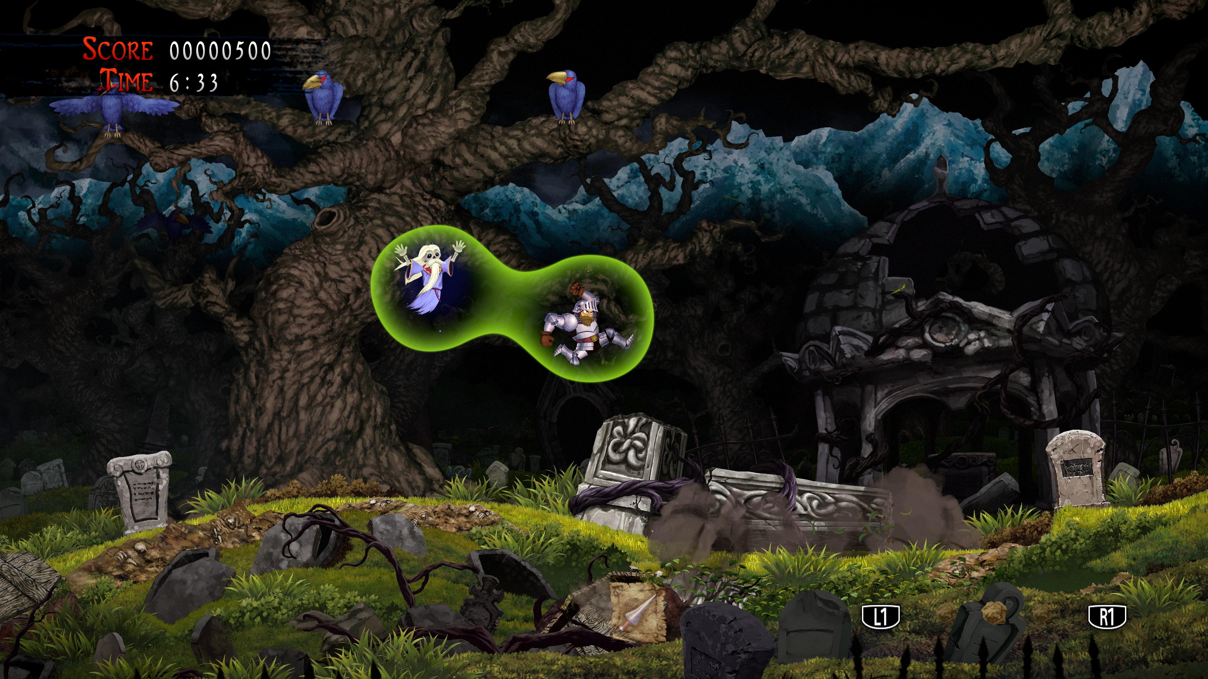 Скриншот №2 к Ghosts n Goblins Resurrection