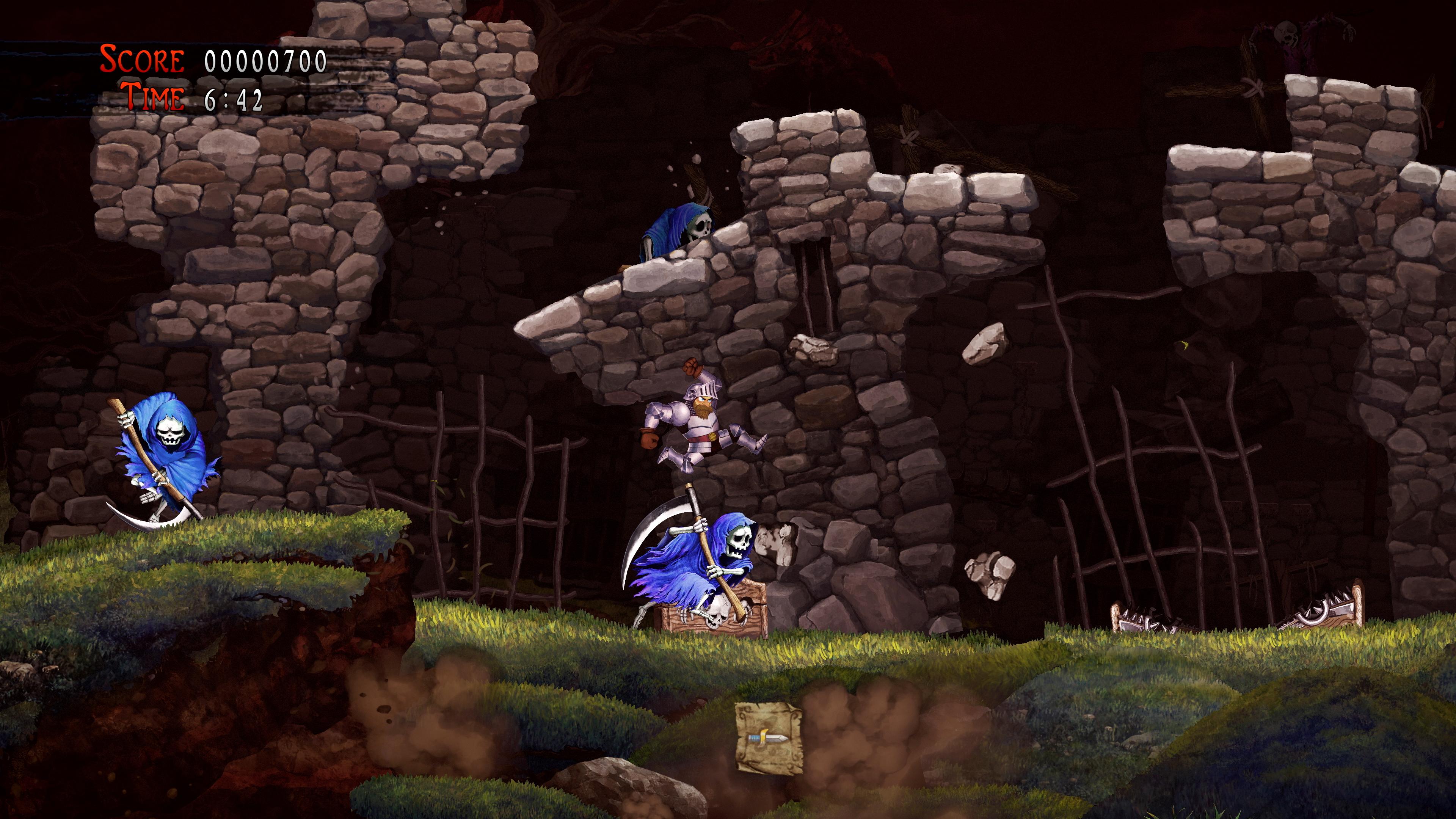 Скриншот №5 к Ghosts n Goblins Resurrection