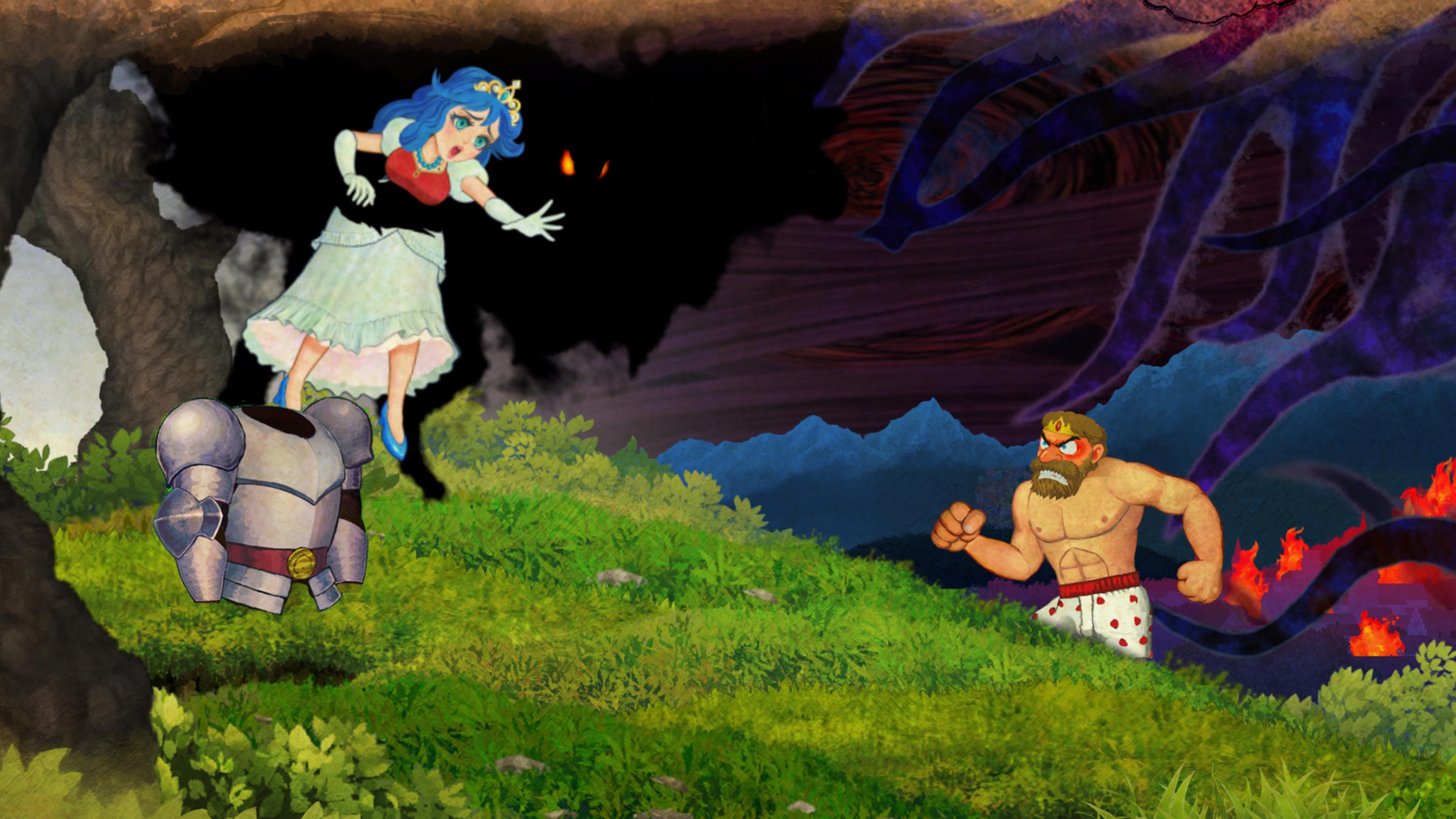 Скриншот №1 к Ghosts n Goblins Resurrection