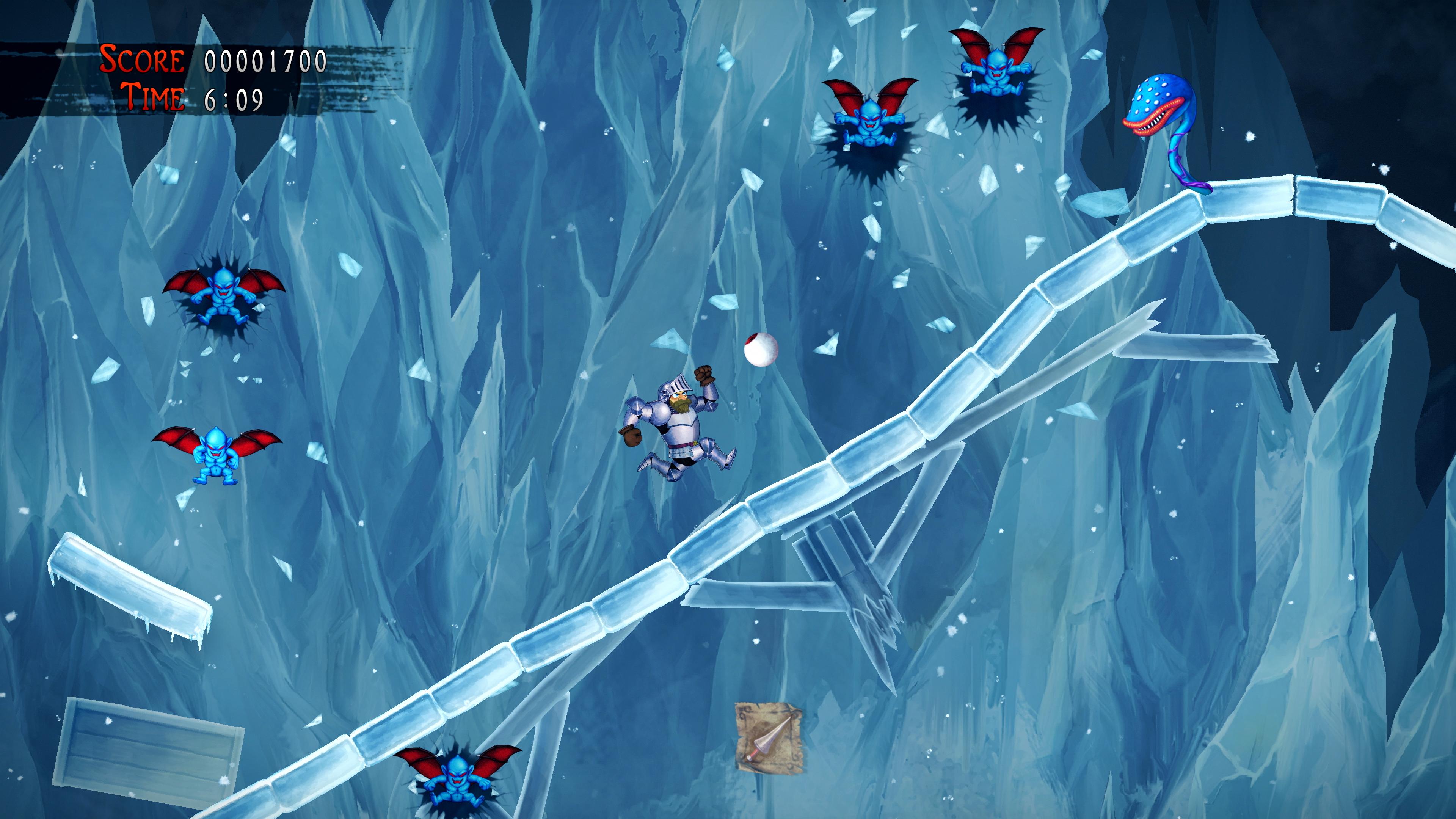 Скриншот №7 к Ghosts n Goblins Resurrection