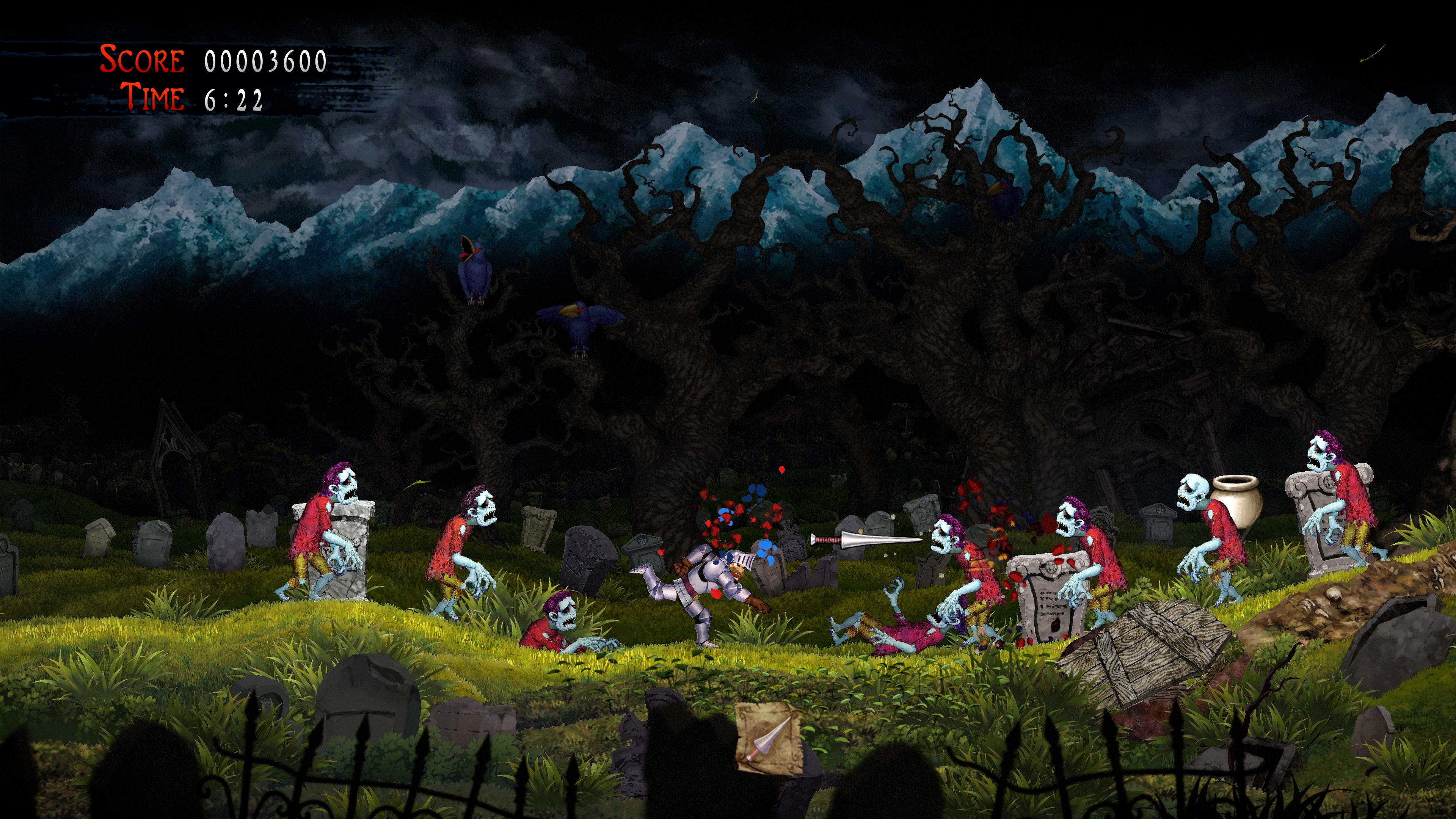 Скриншот №3 к Ghosts n Goblins Resurrection