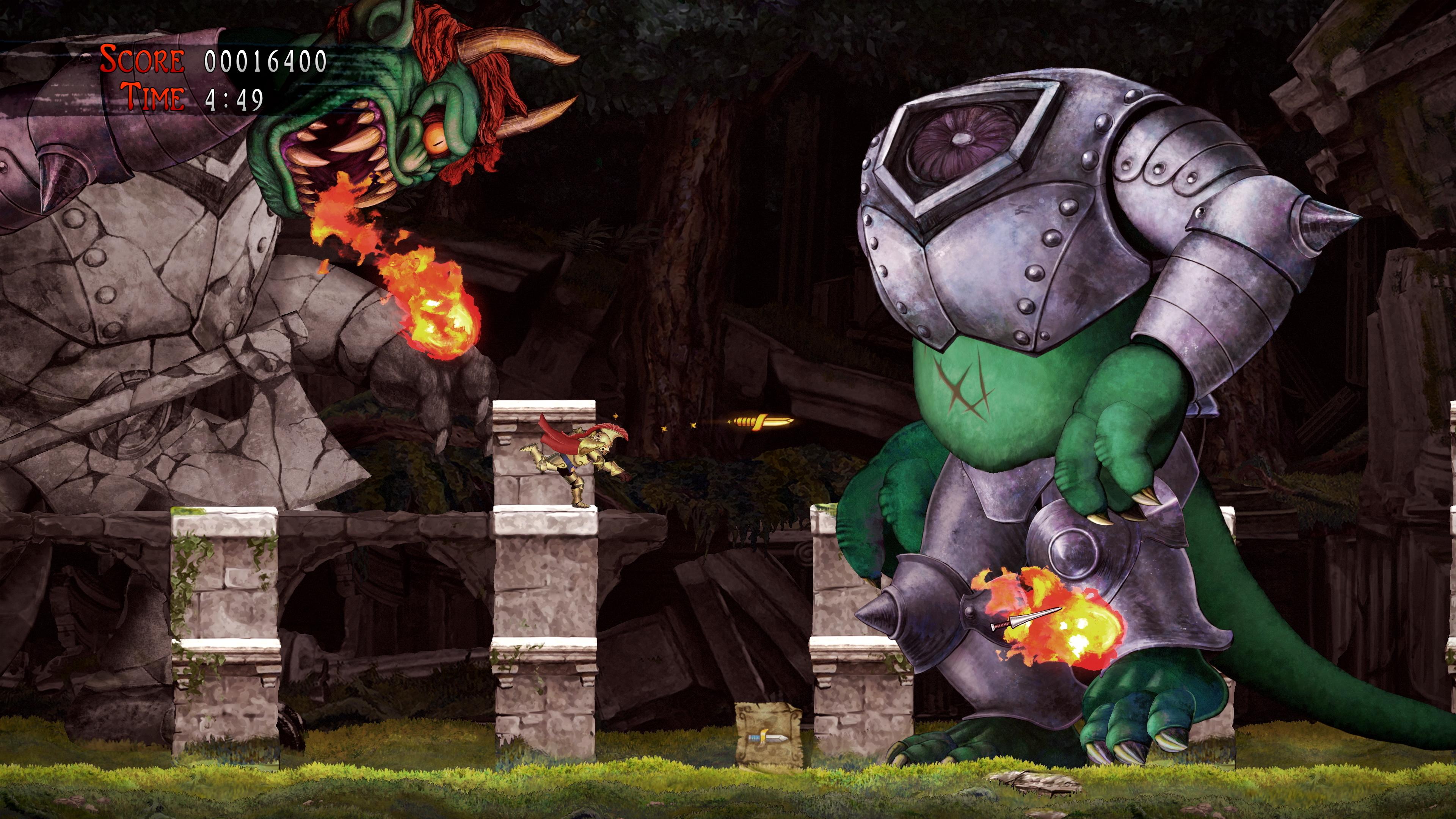 Скриншот №6 к Ghosts n Goblins Resurrection