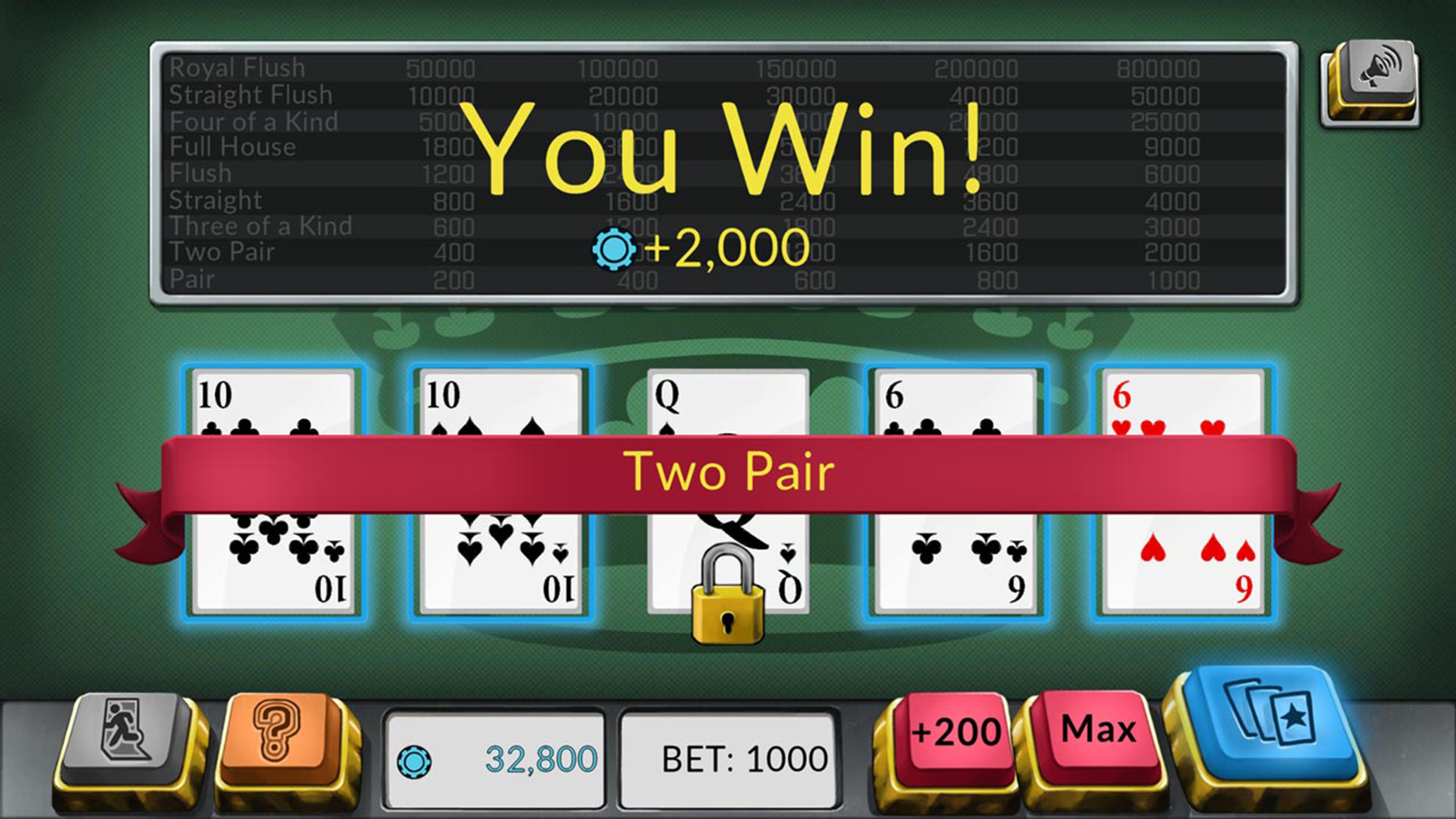 Скриншот №6 к Four Kings Видео покер