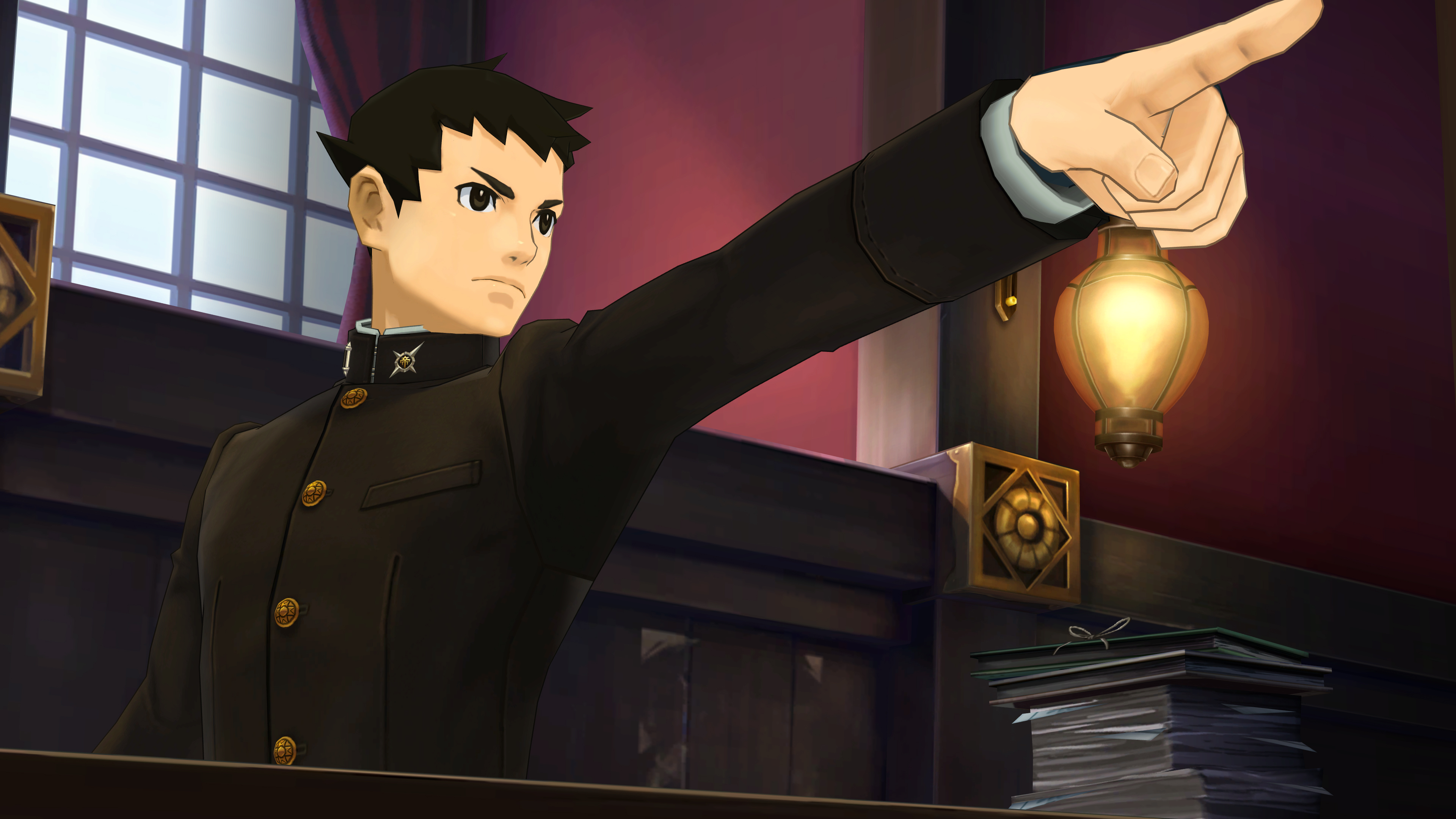 Скриншот №1 к The Great Ace Attorney Chronicles