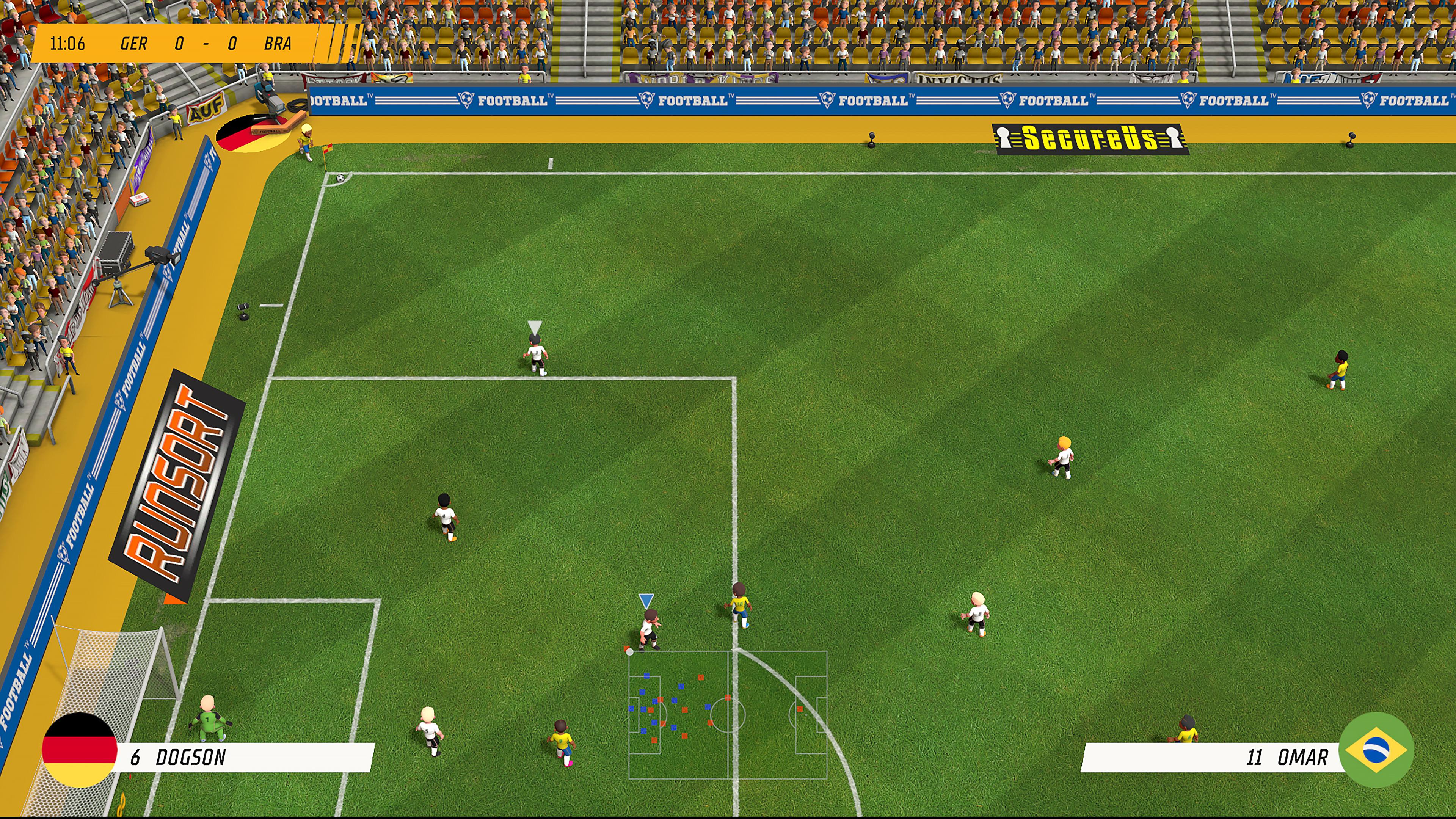 Скриншот №3 к Super Soccer Blast America vs Europe