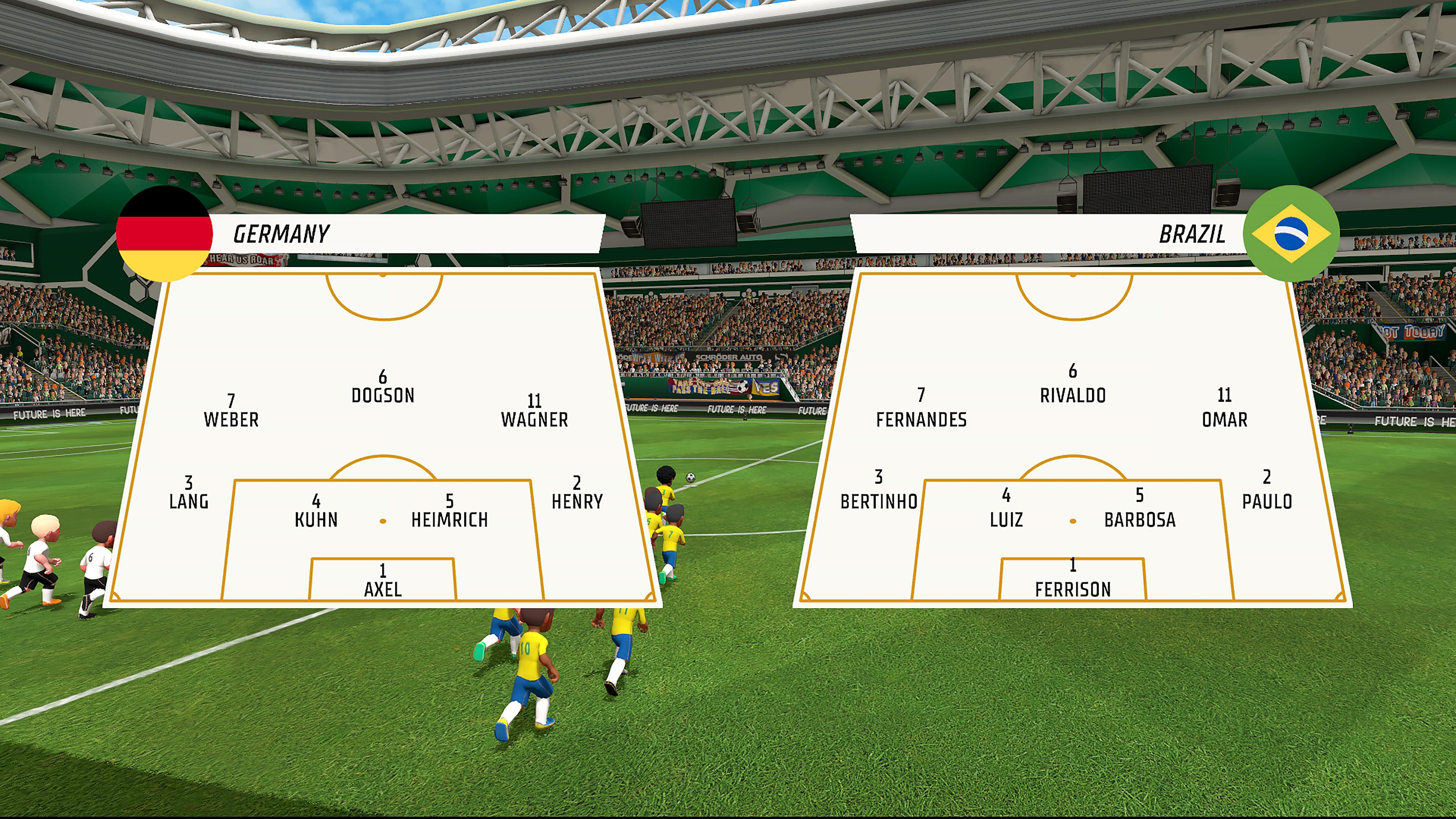 Скриншот №7 к Super Soccer Blast America vs Europe