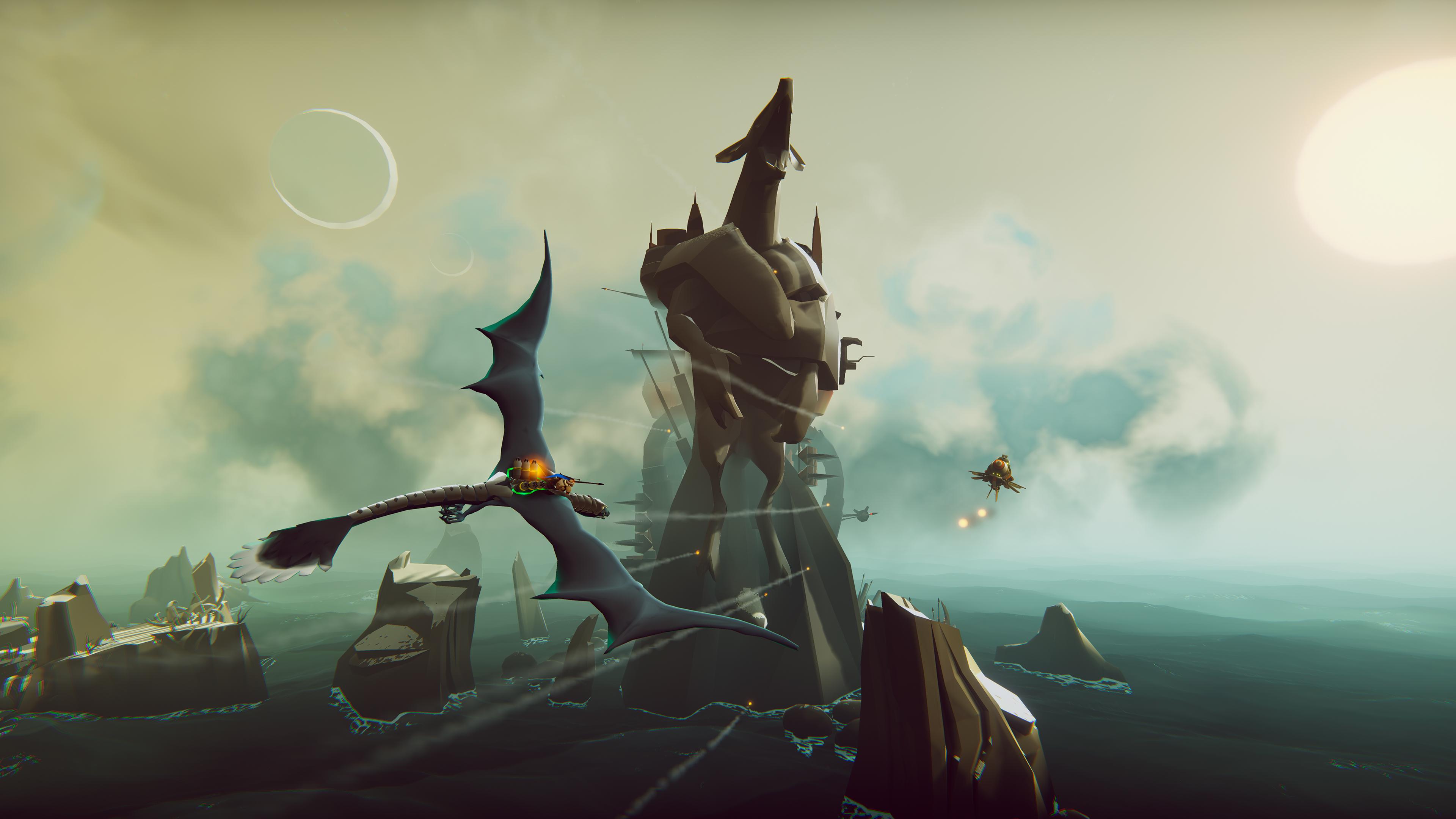 Скриншот №4 к The Falconeer Warrior Edition