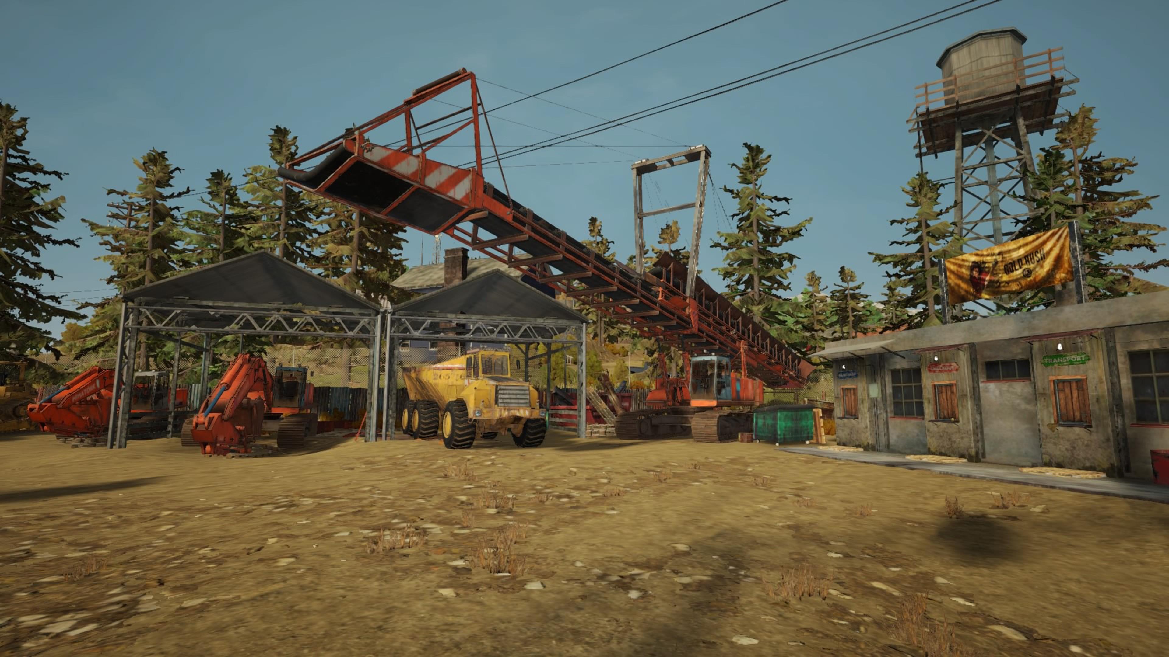 Скриншот №1 к Золотая лихорадка Gold Rush The Game