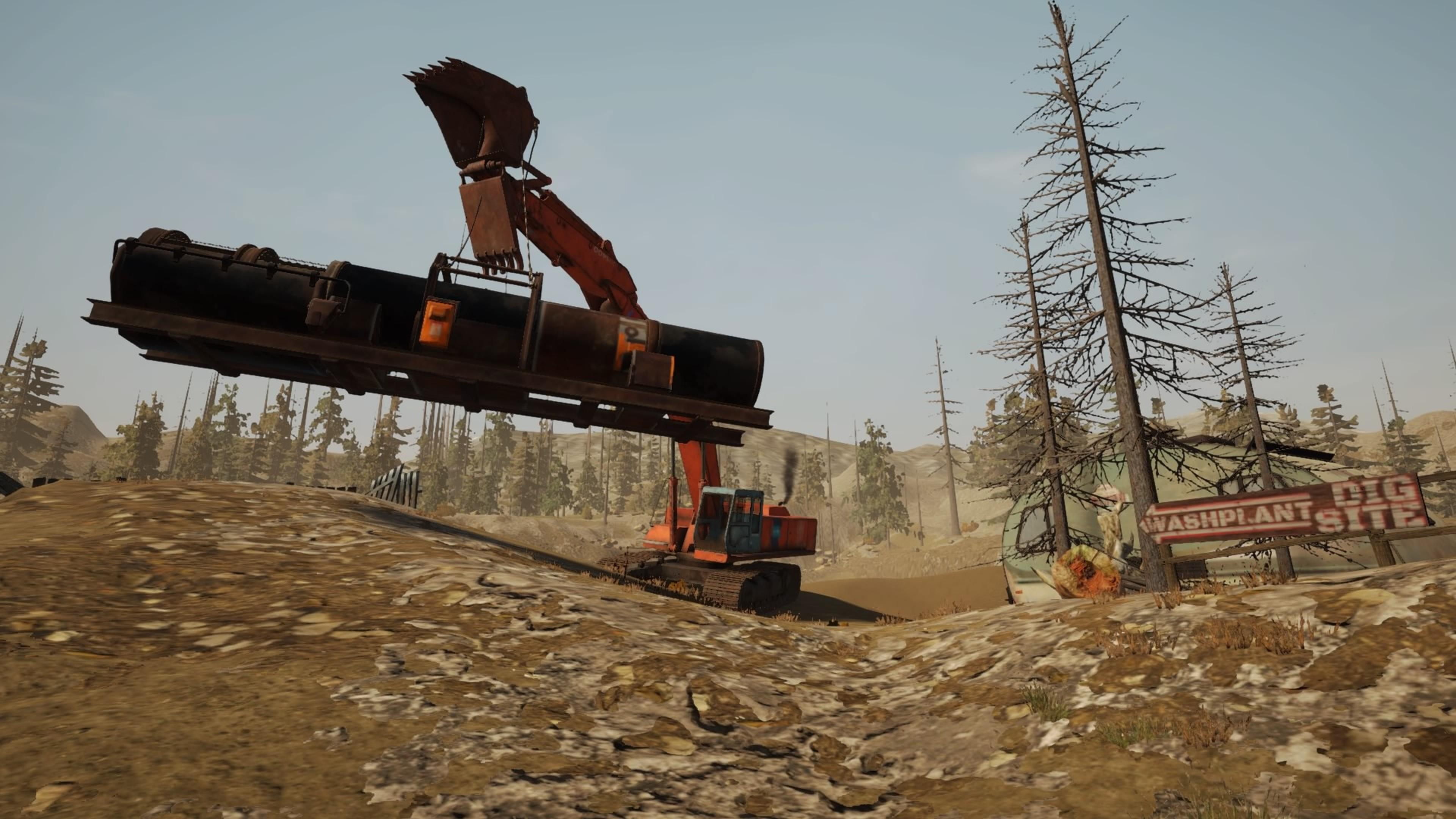 Скриншот №5 к Золотая лихорадка Gold Rush The Game