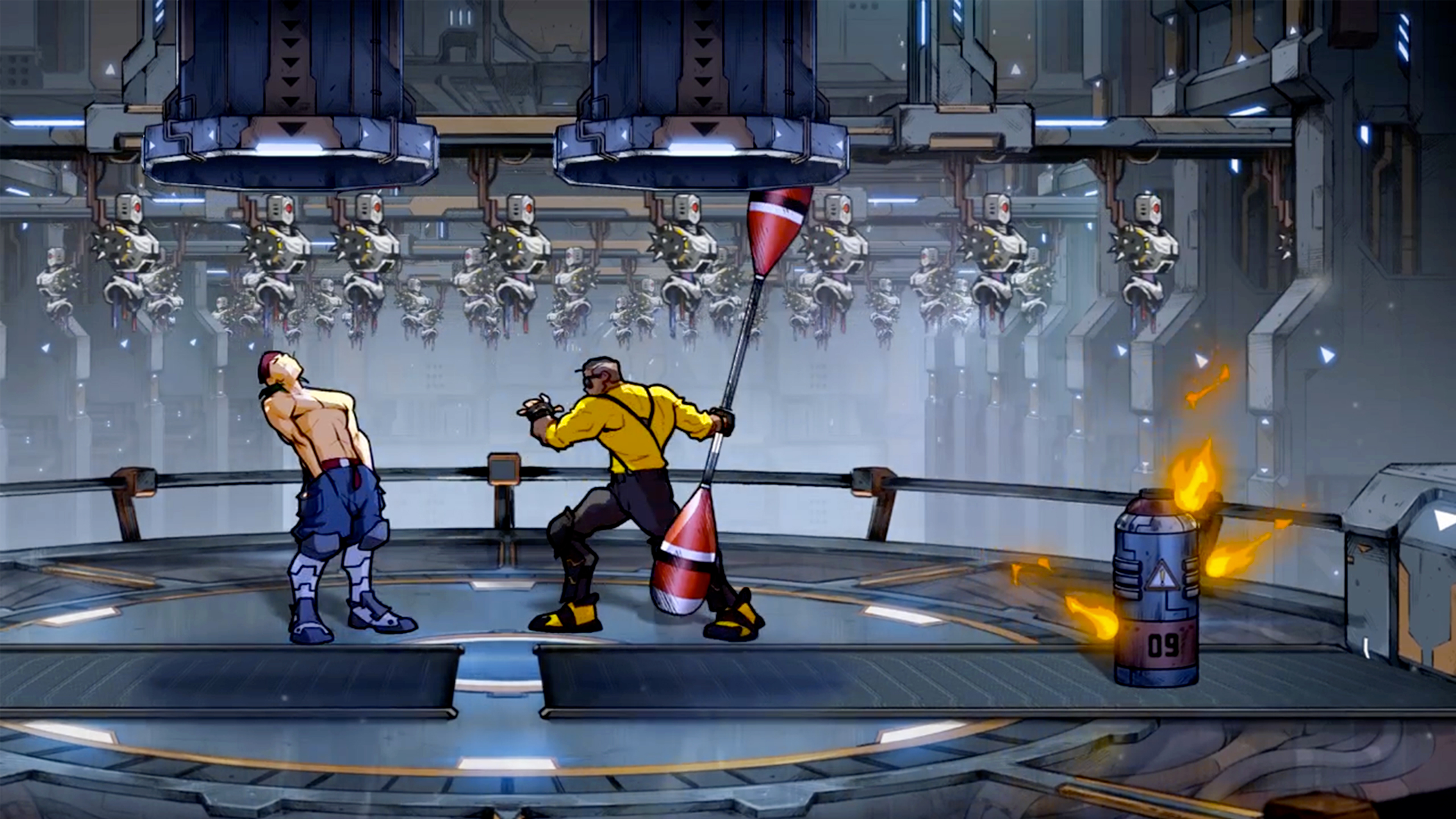 Скриншот №3 к Streets Of Rage 4 + Streets Of Rage 4 - Mr. X Nightmare Launch Bundle
