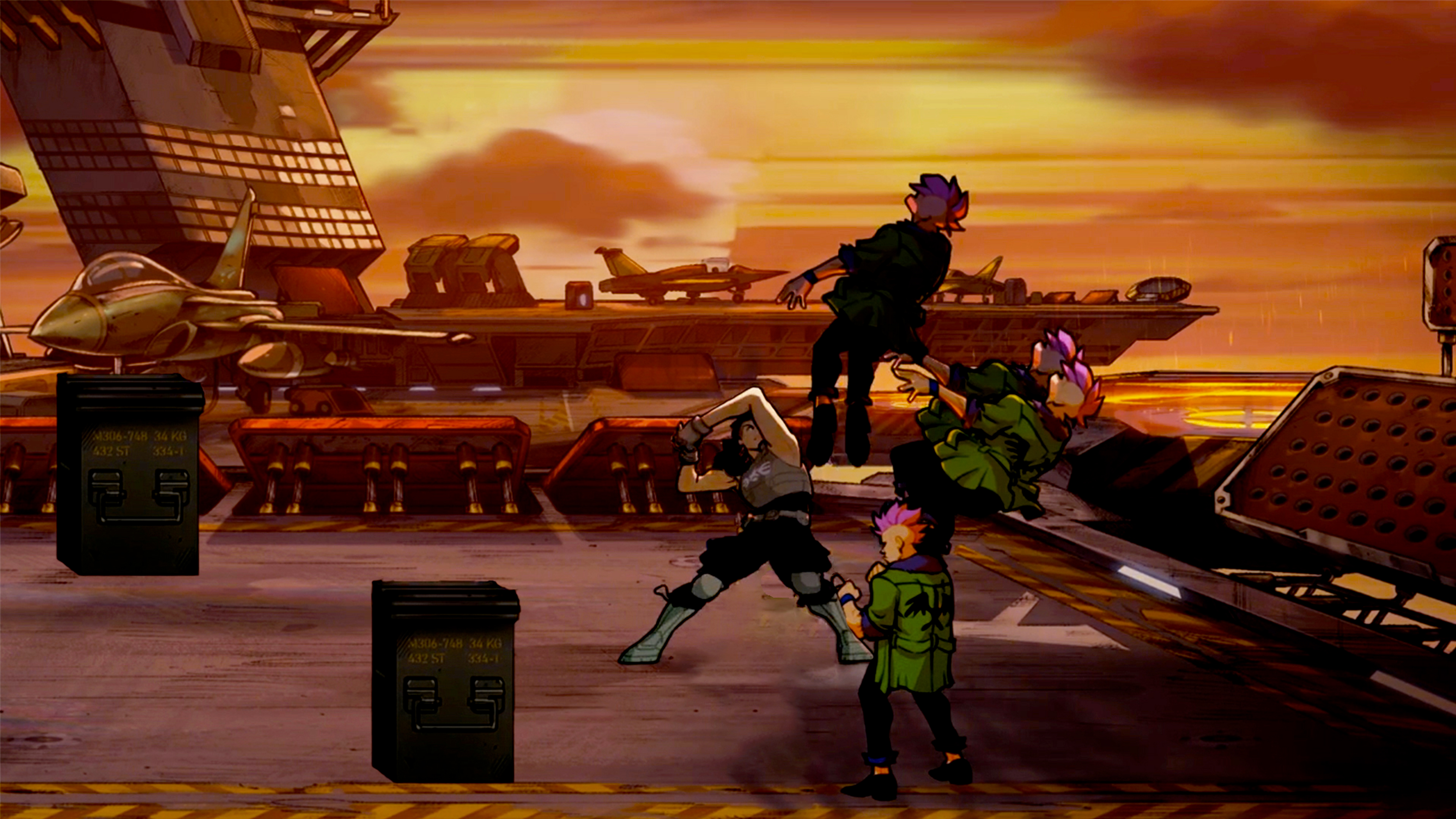 Скриншот №2 к Streets Of Rage 4 + Streets Of Rage 4 - Mr. X Nightmare Launch Bundle