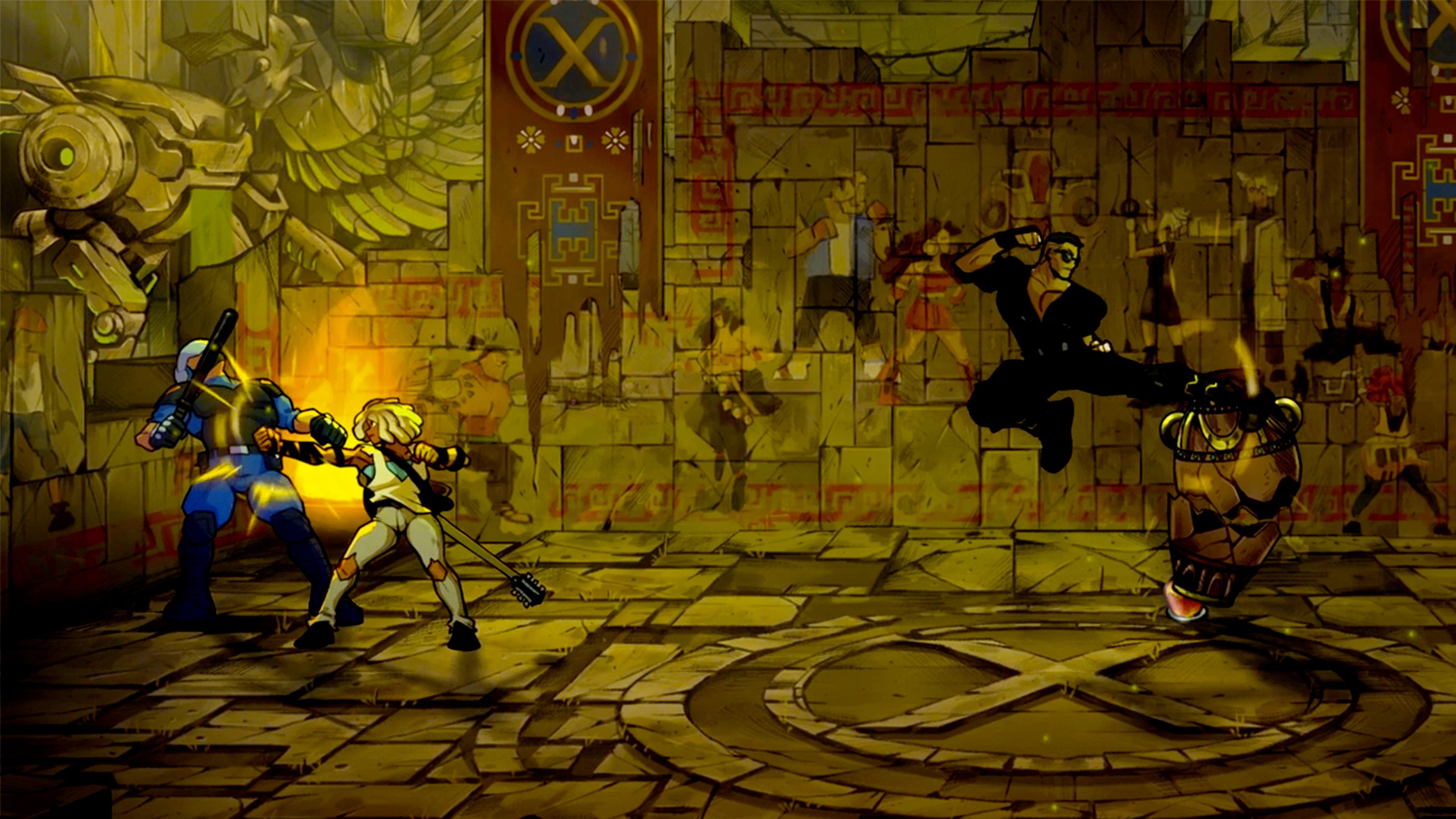 Скриншот №8 к Streets Of Rage 4 + Streets Of Rage 4 - Mr. X Nightmare Launch Bundle