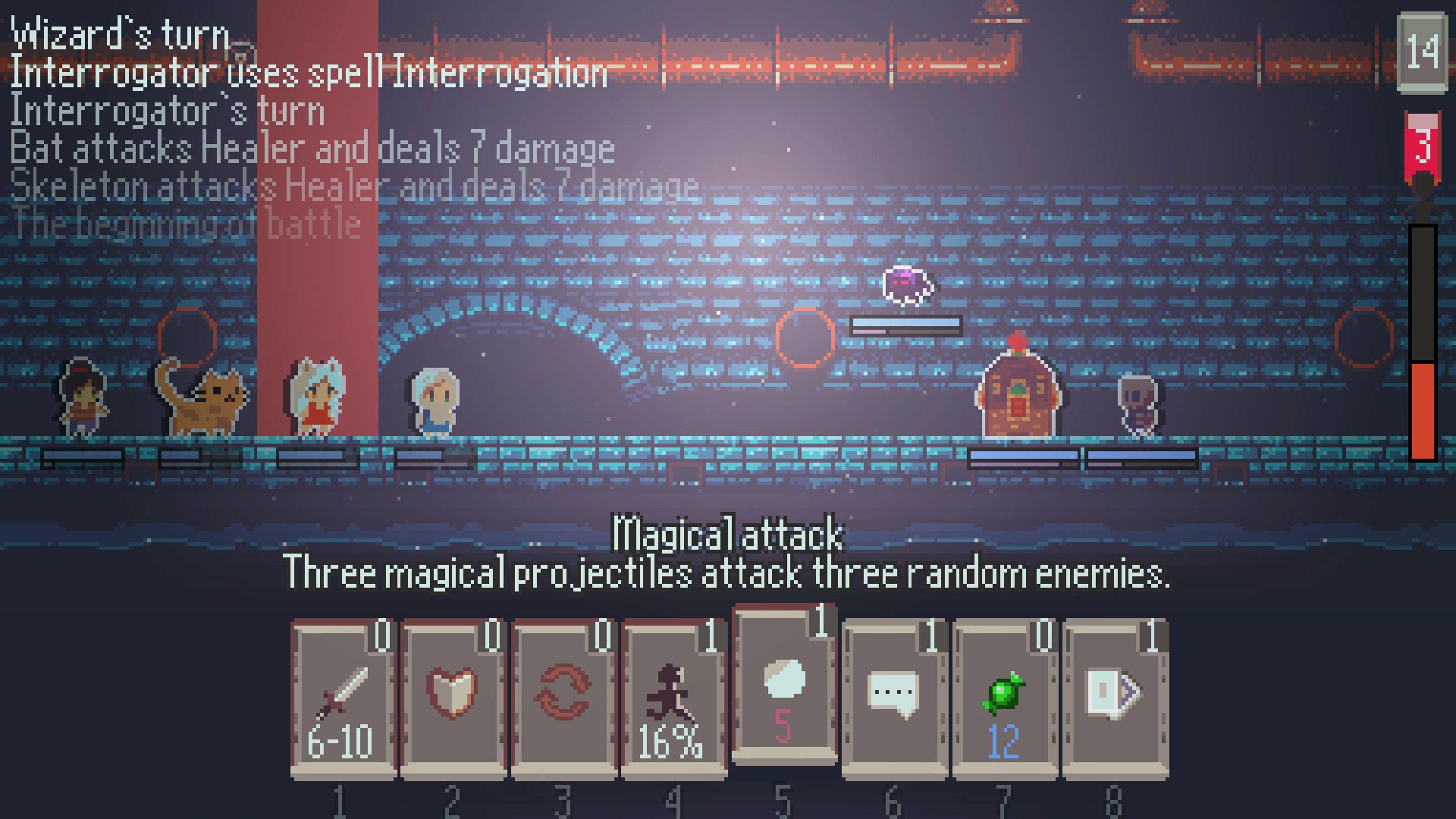Скриншот №2 к Nexoria Dungeon Rogue Heroes