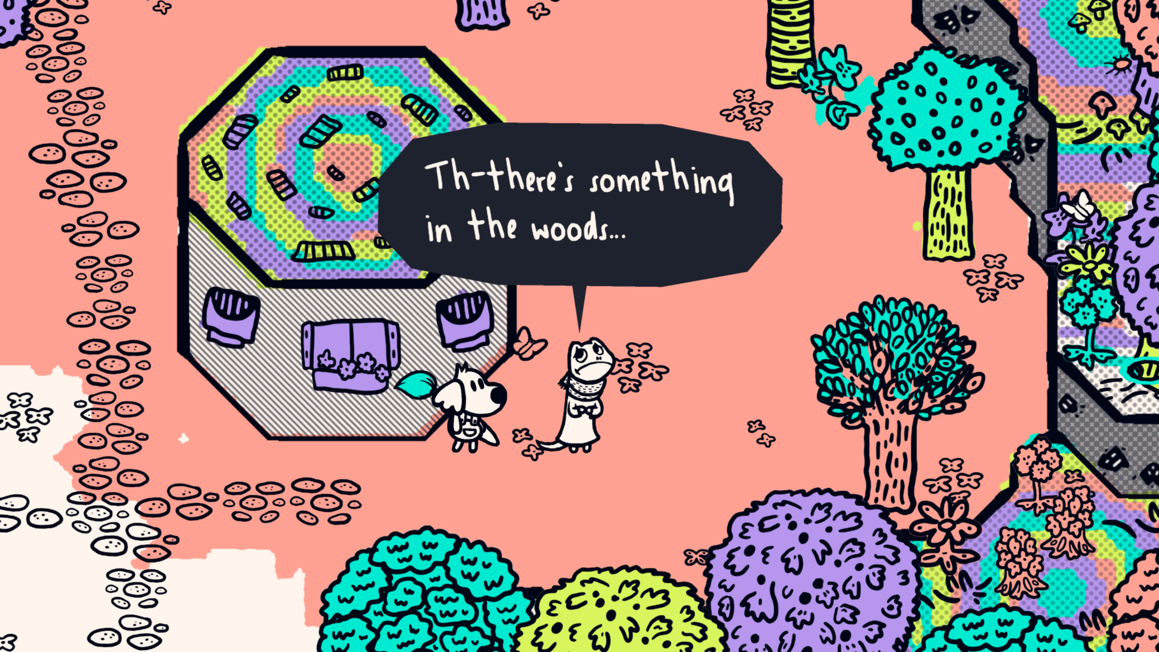 Скриншот №9 к Chicory A Colorful Tale