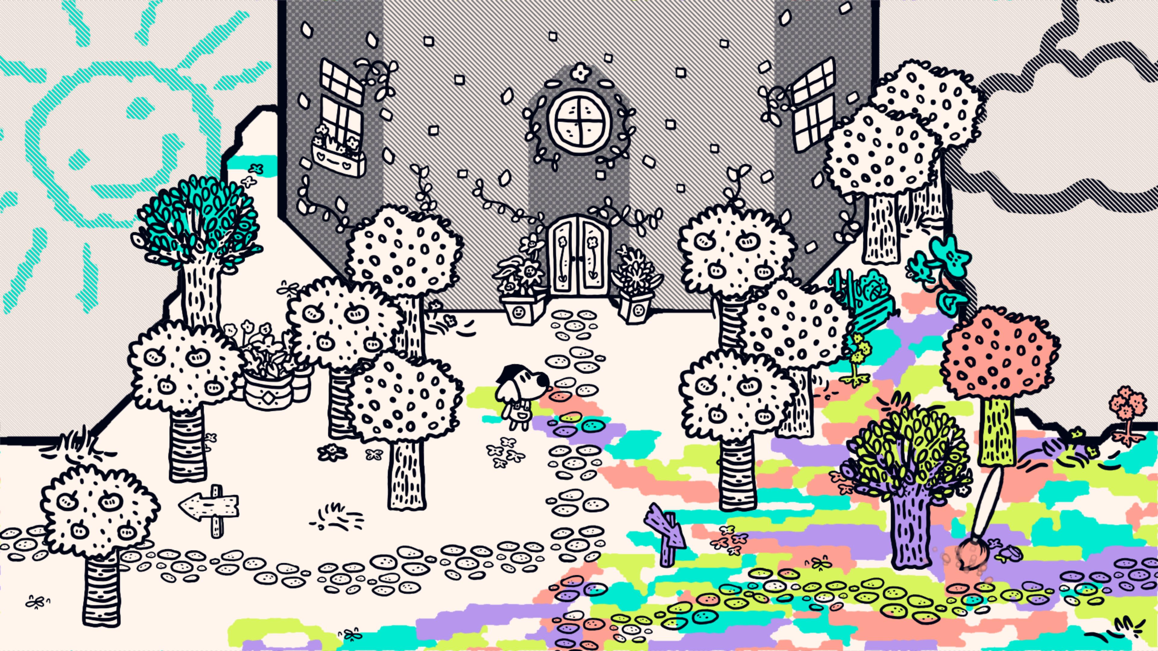 Скриншот №1 к Chicory A Colorful Tale