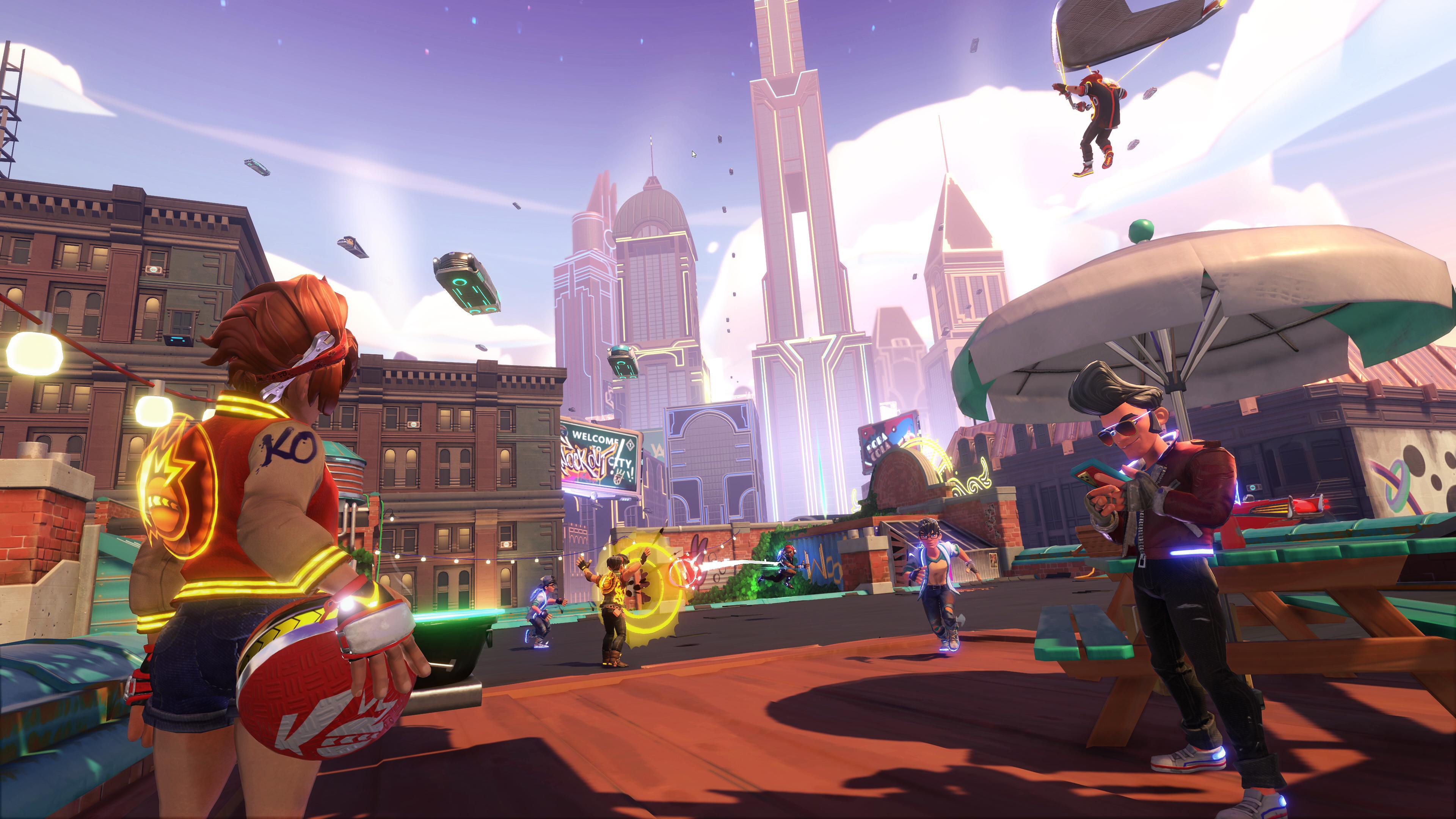 Скриншот №2 к Knockout City – издание Deluxe