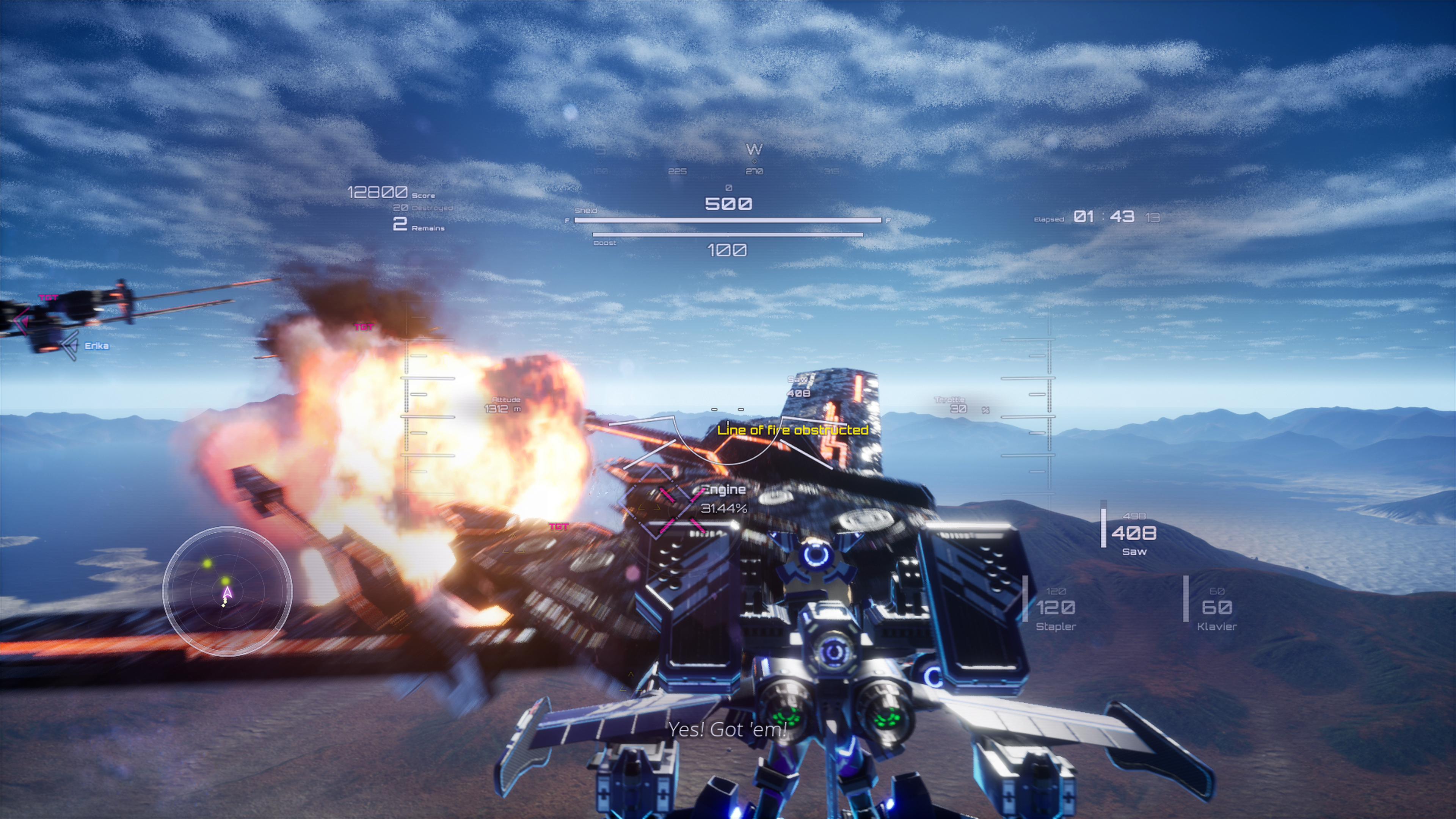 Скриншот №3 к Wing of Darkness
