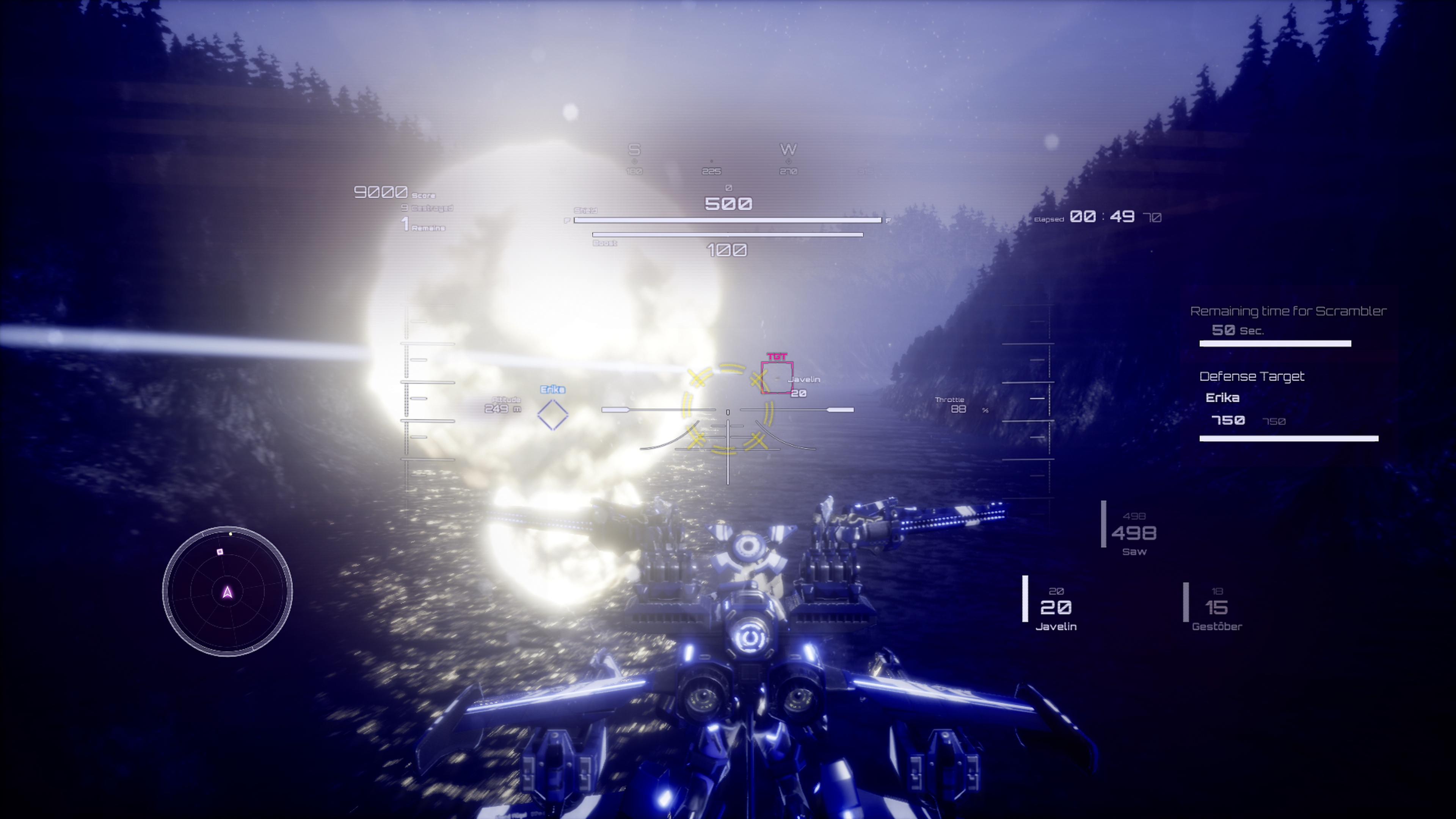 Скриншот №4 к Wing of Darkness