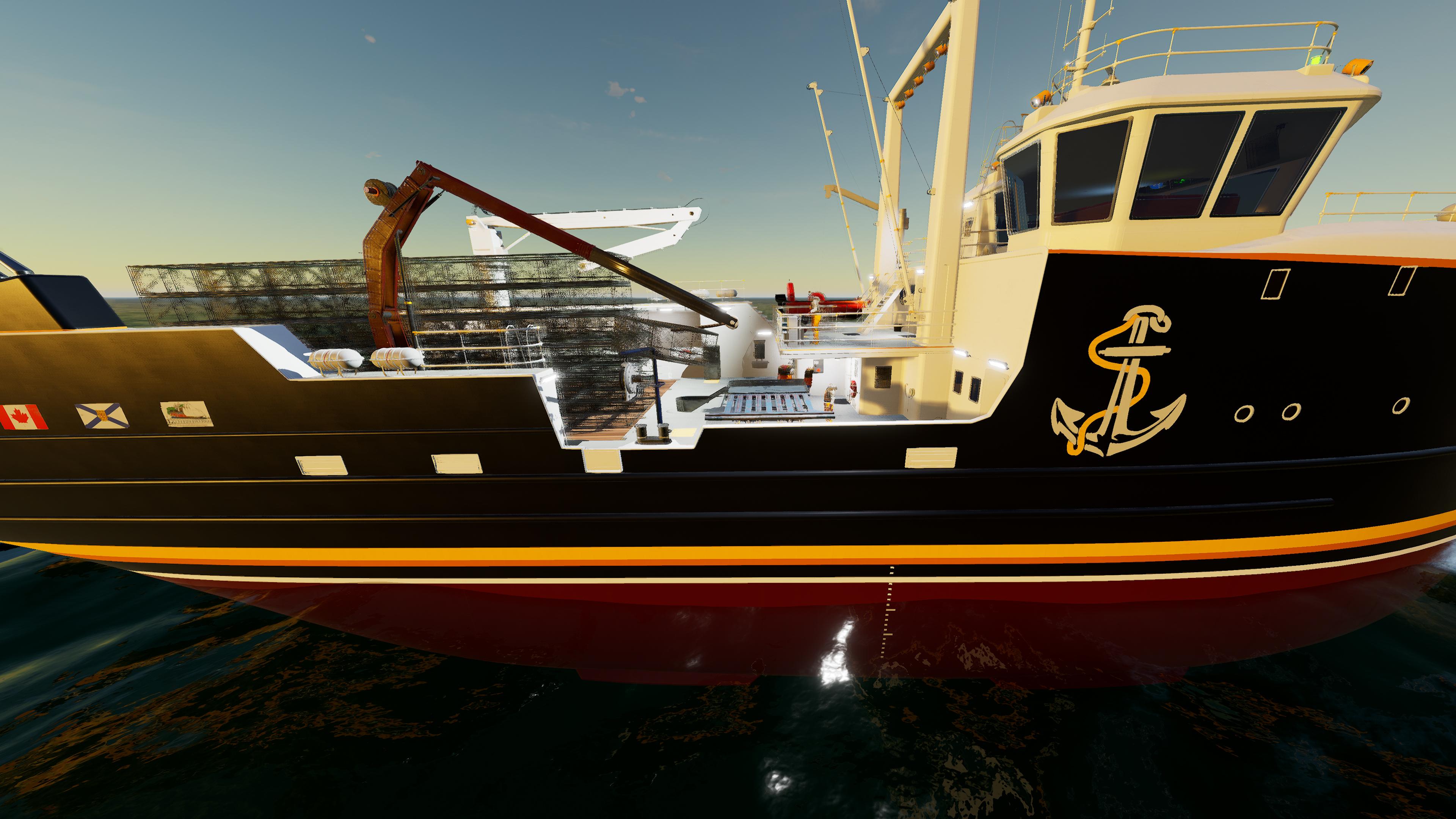 Скриншот №2 к Fishing North Atlantic