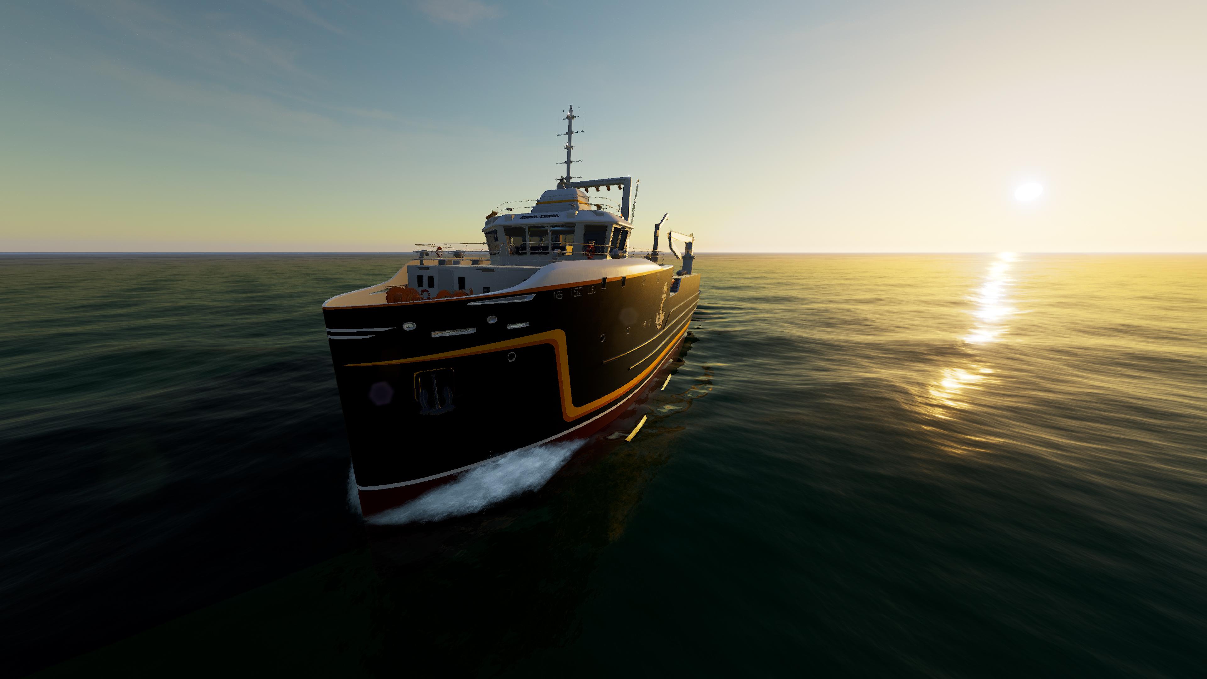 Скриншот №1 к Fishing North Atlantic