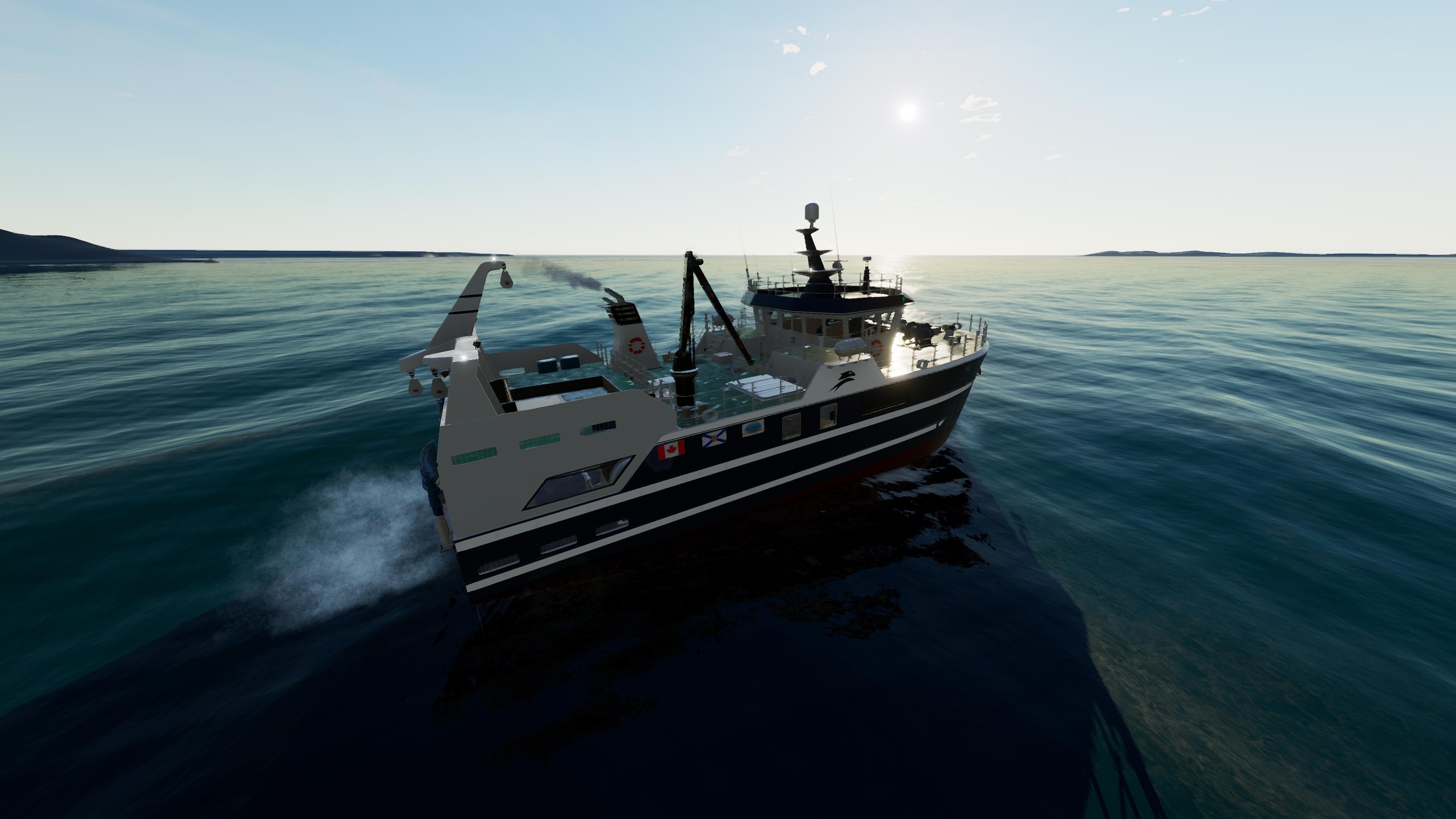 Скриншот №4 к Fishing North Atlantic