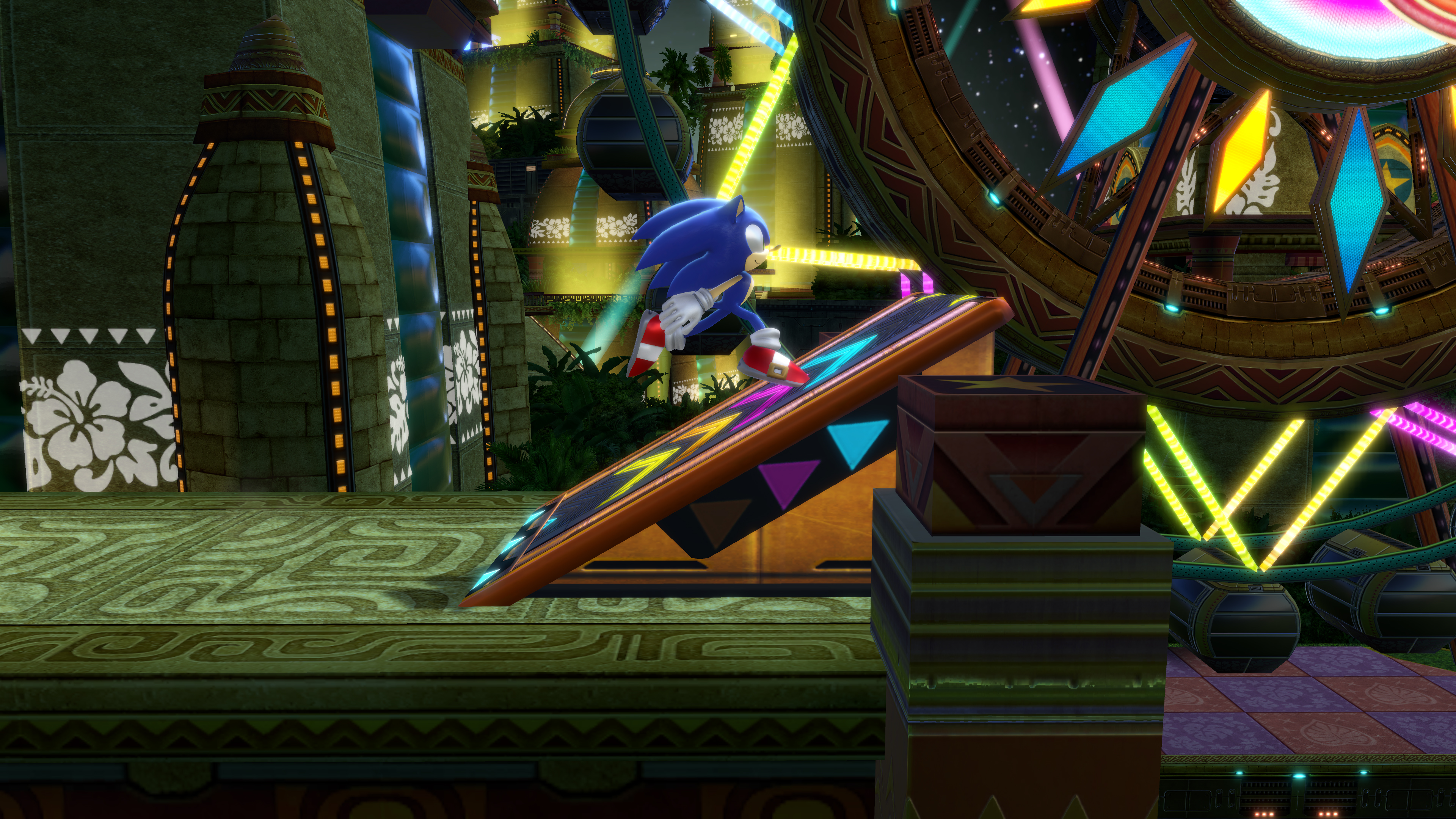 Скриншот №2 к Sonic Colors Ultimate