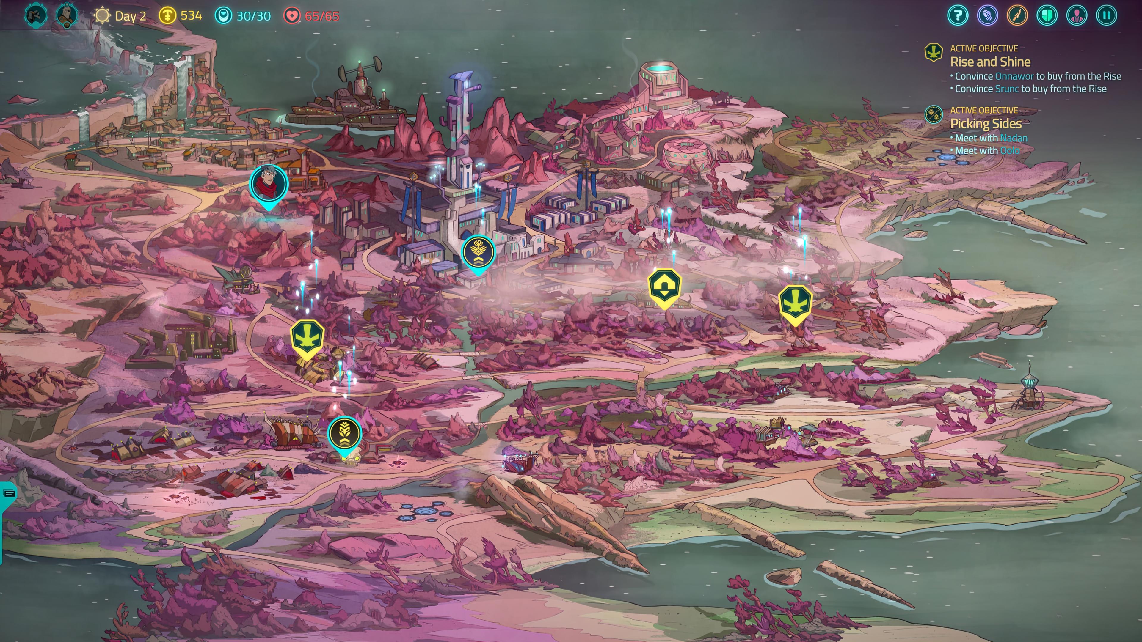Скриншот №1 к Griftlands