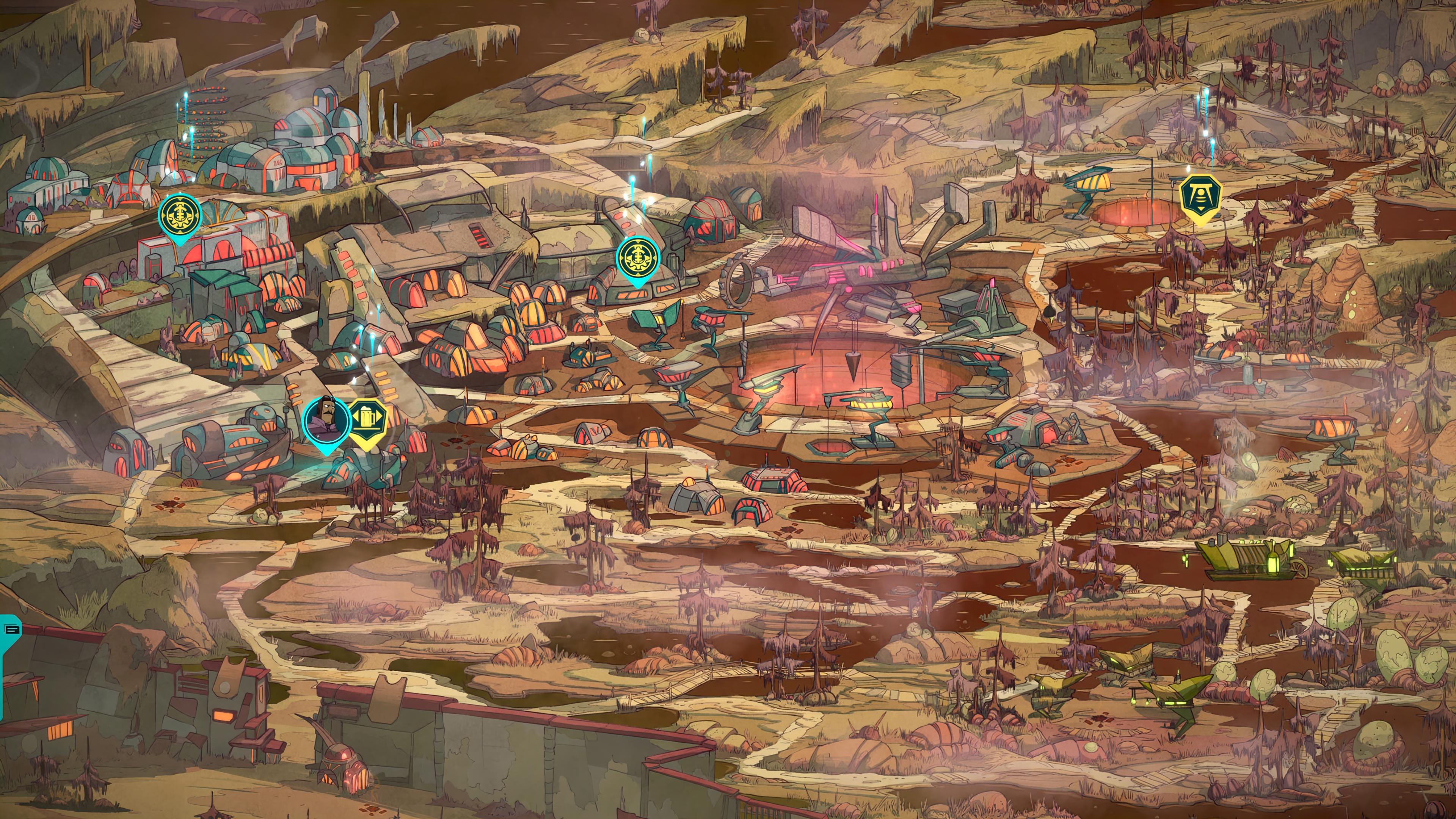Скриншот №6 к Griftlands