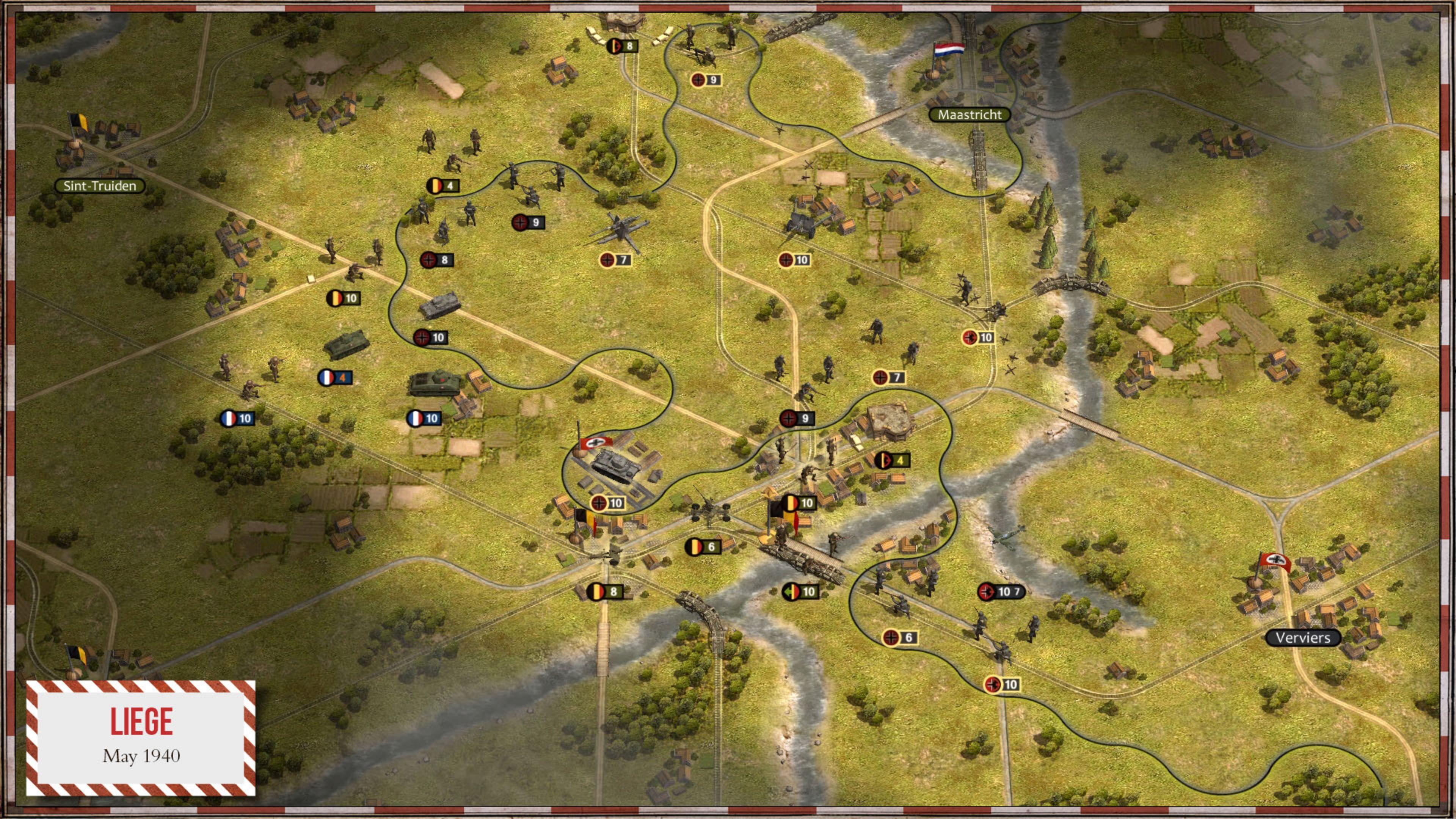Скриншот №2 к Order of Battle World War II