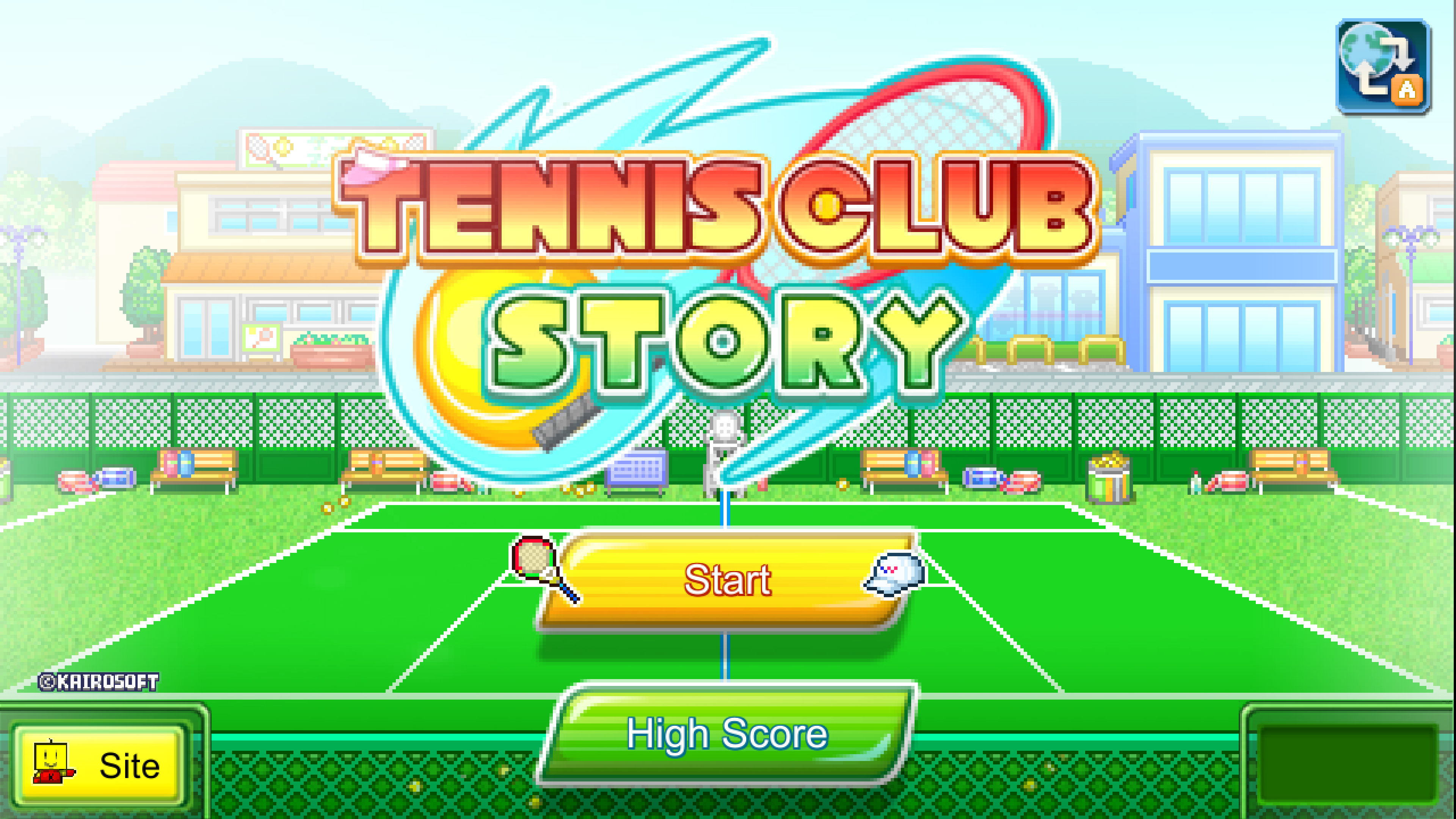 Скриншот №4 к Tennis Club Story