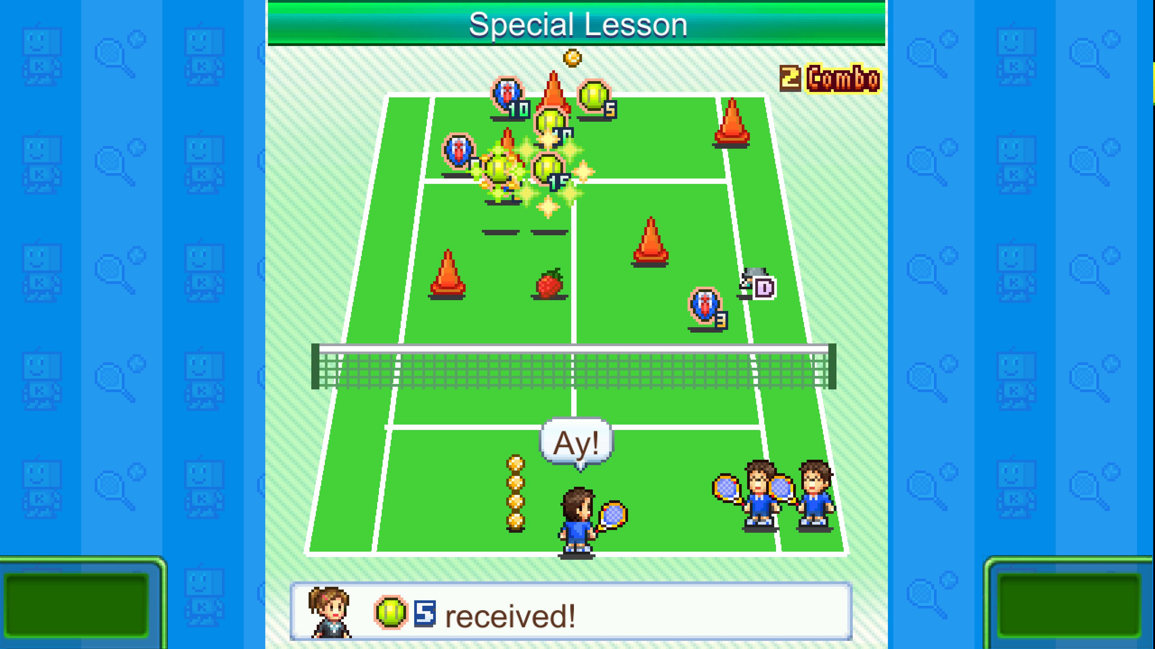 Скриншот №2 к Tennis Club Story