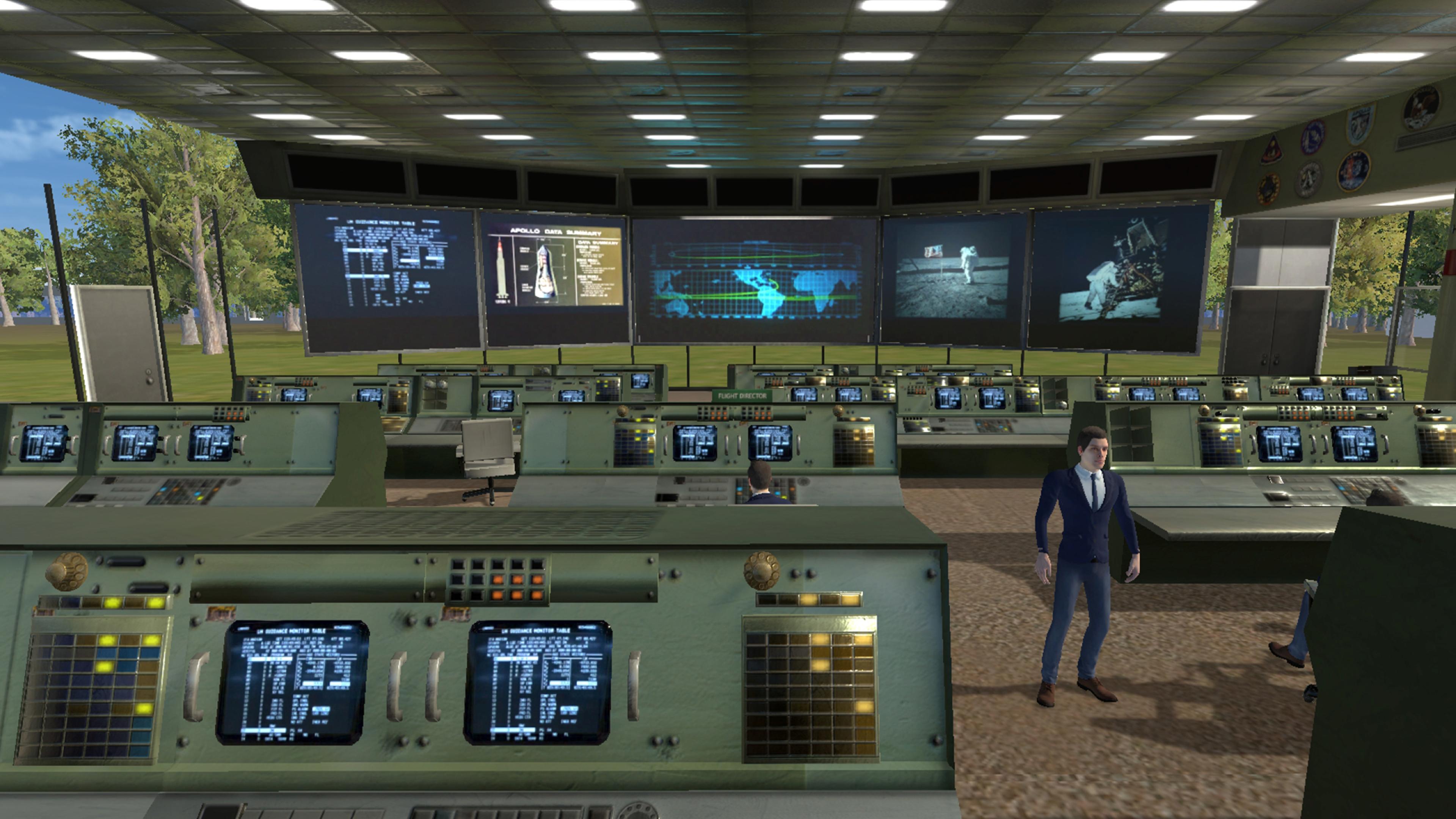 Скриншот №1 к Space Explore VR