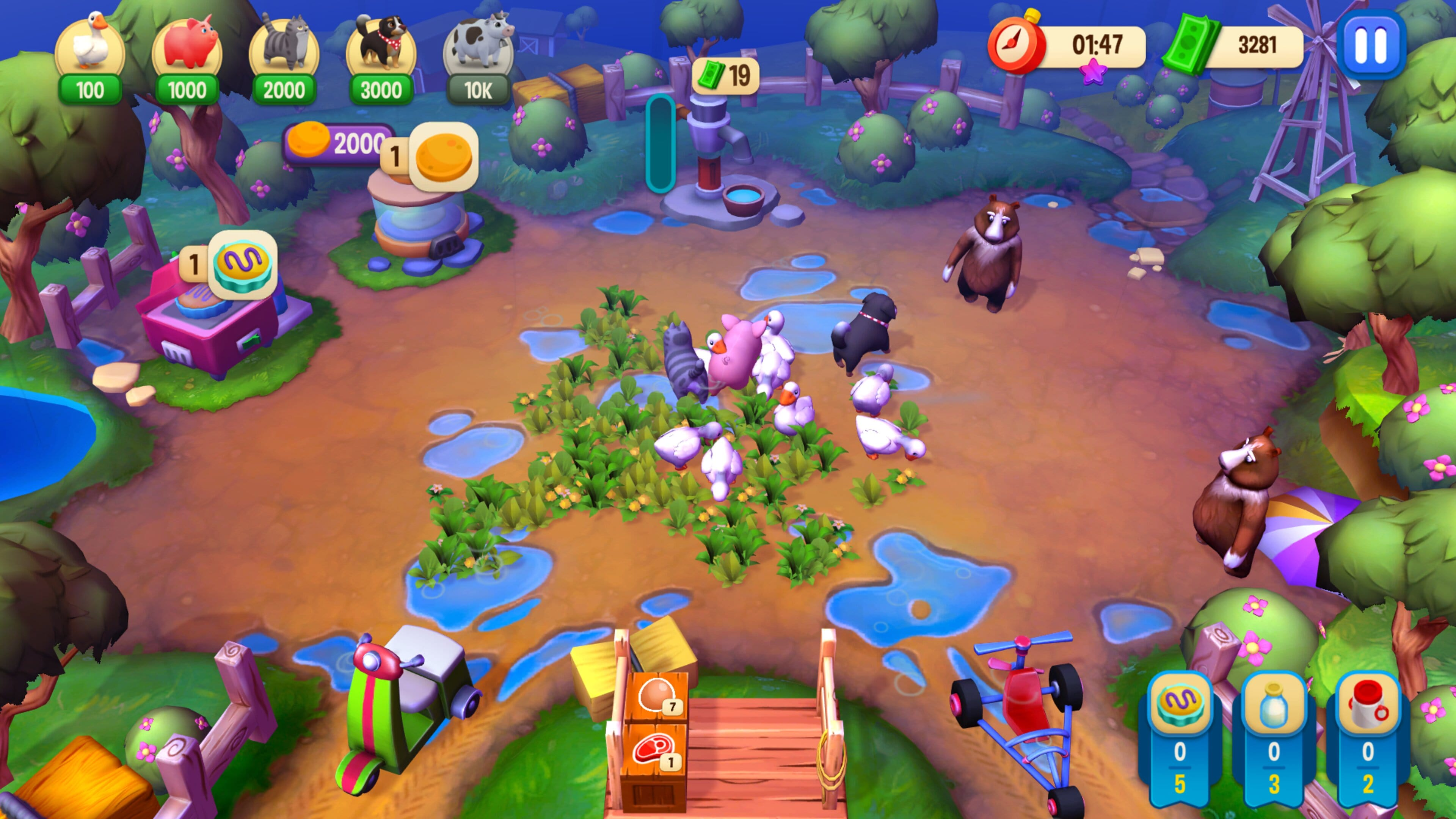 Скриншот №1 к Farm Frenzy Refreshed