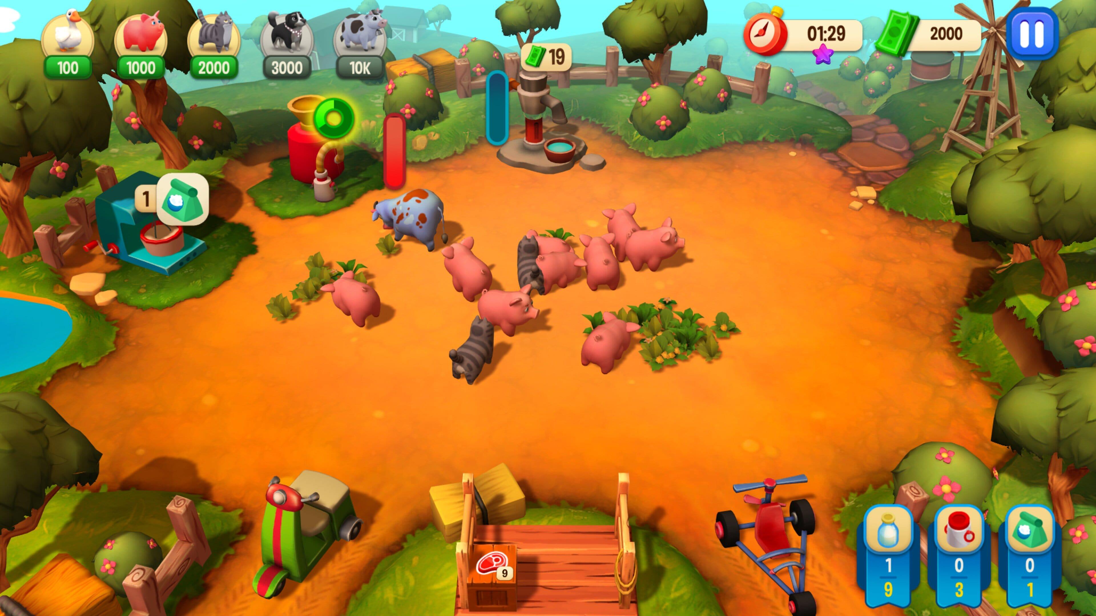 Скриншот №4 к Farm Frenzy Refreshed