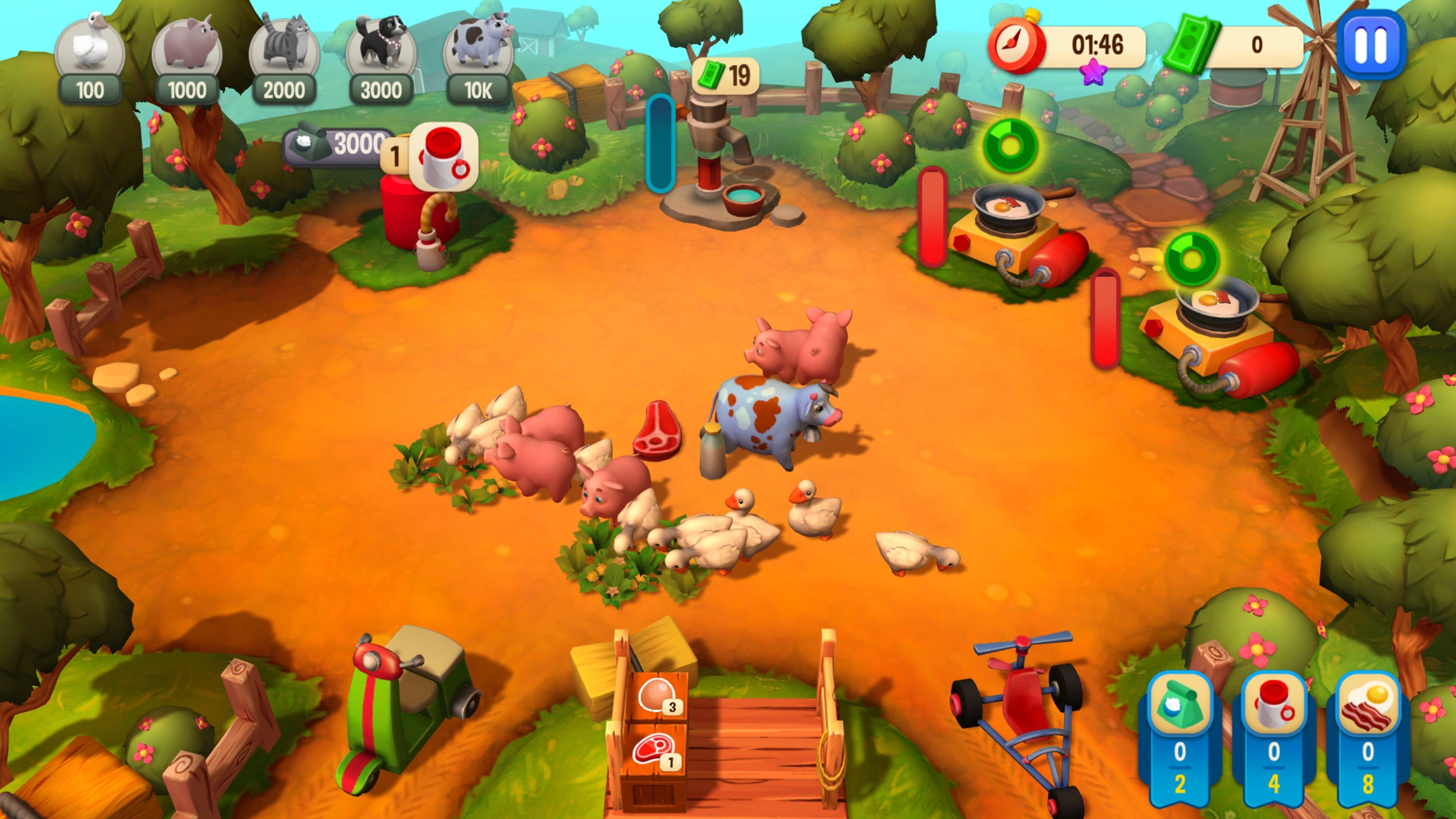 Скриншот №3 к Farm Frenzy Refreshed